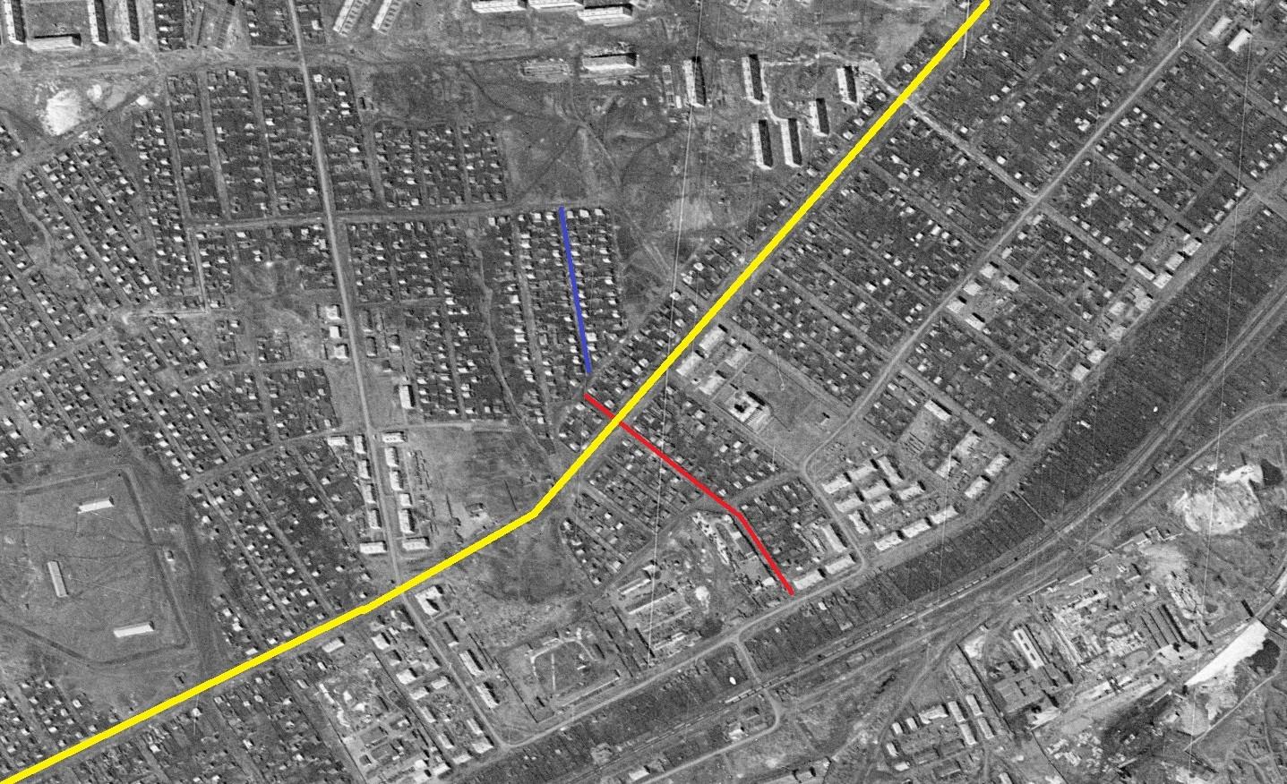 Сепараторная улица и переулок 1965