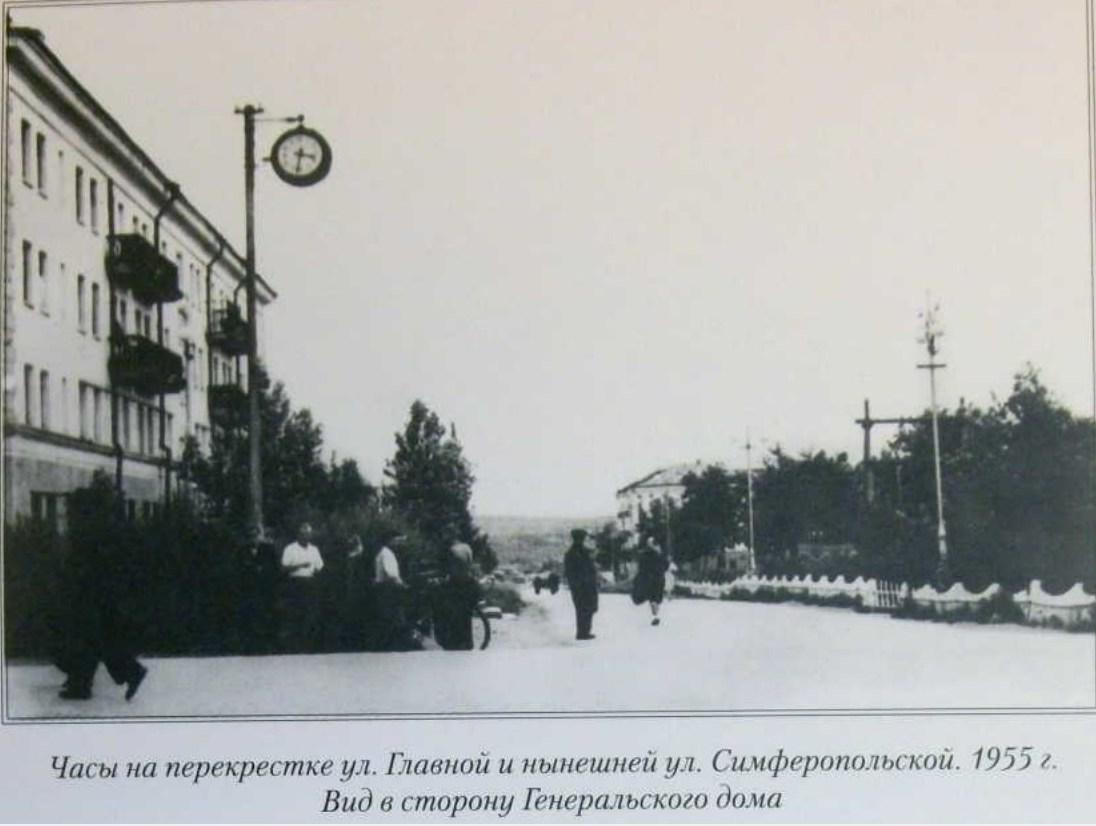 Улица Симферопольская в сторону Академика Кузнецова