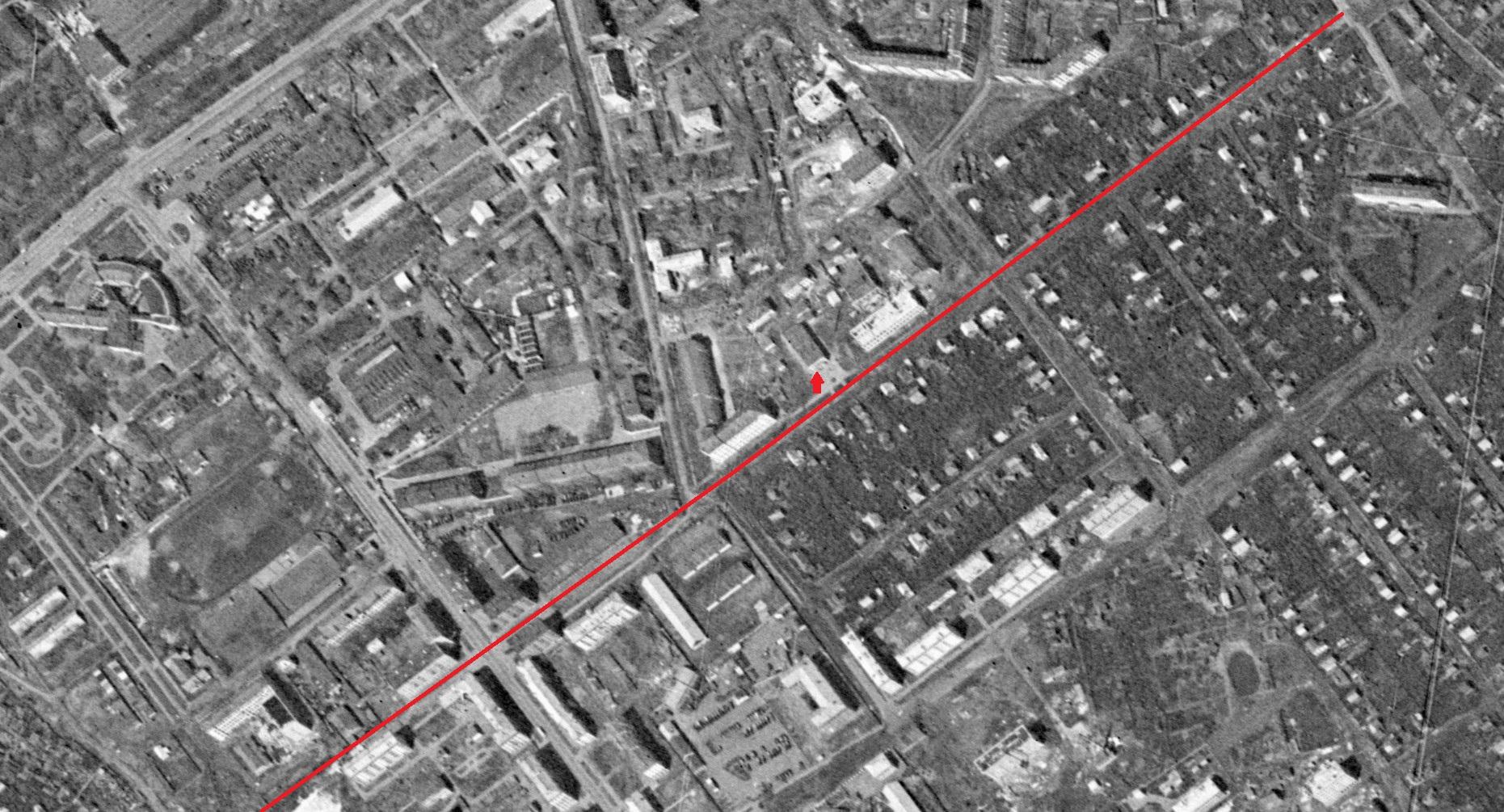 Улица Скляренко 1965 год