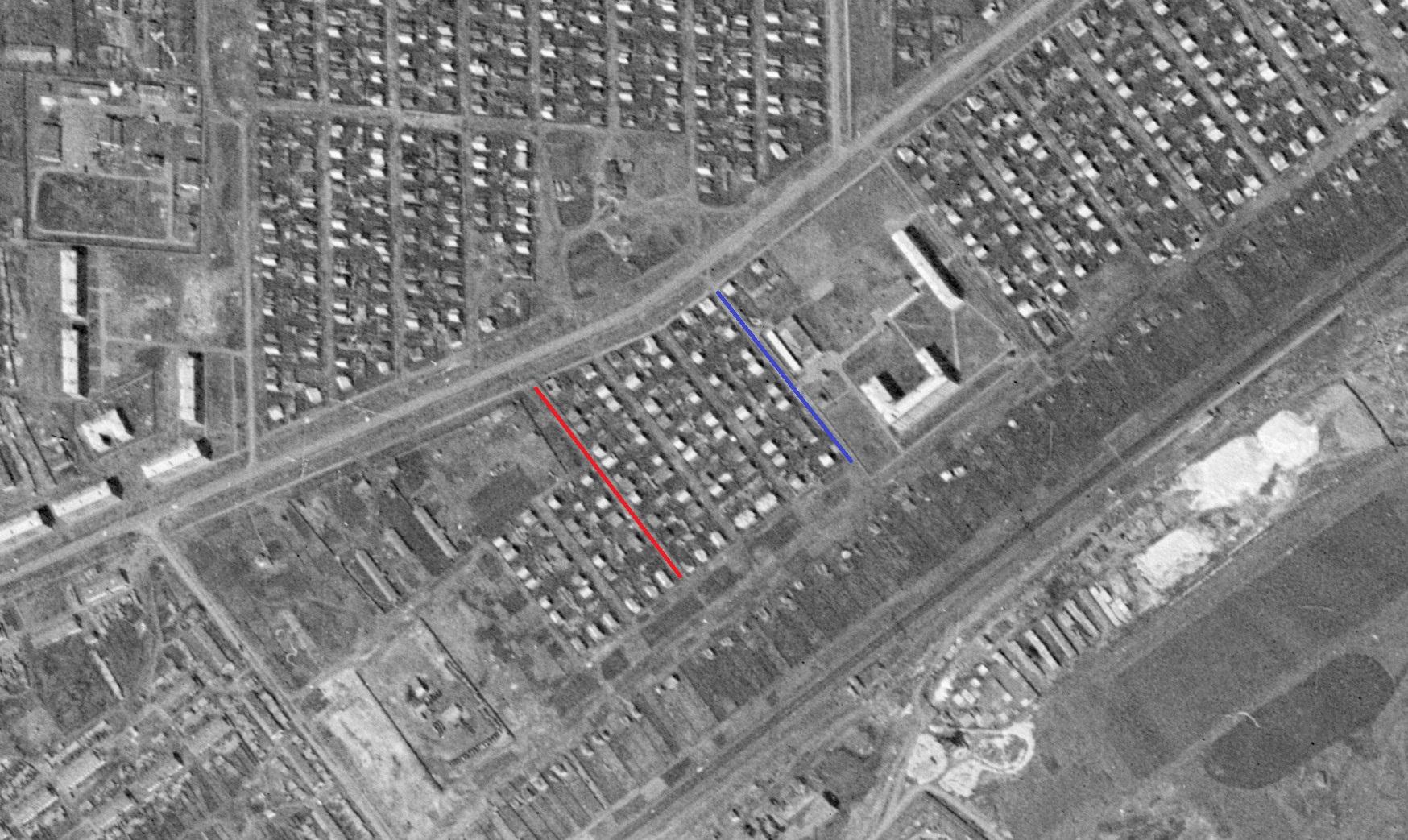 Улицы Селекционная и Современная - 1965