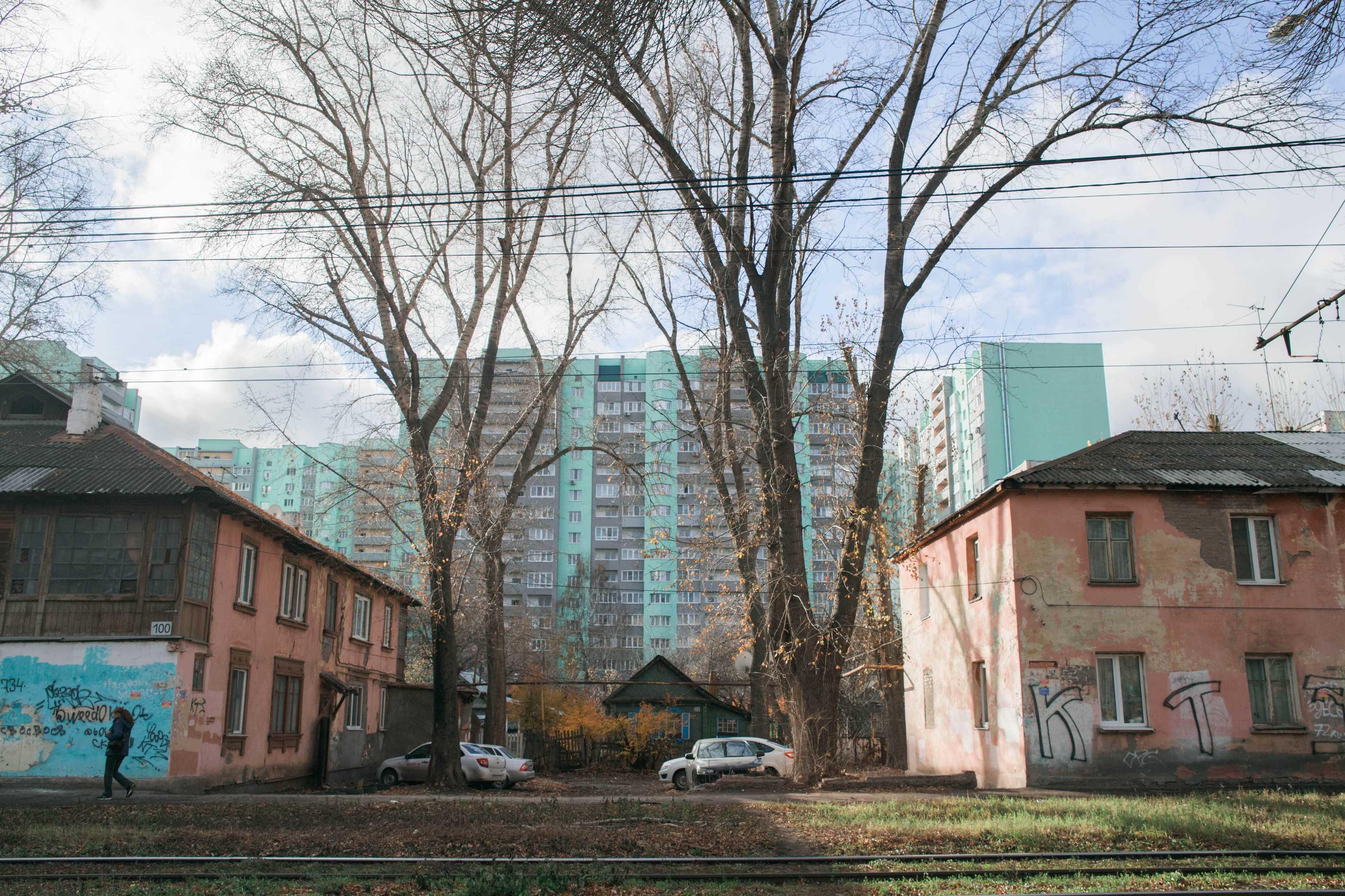 Архитектурная среда улицы Советской