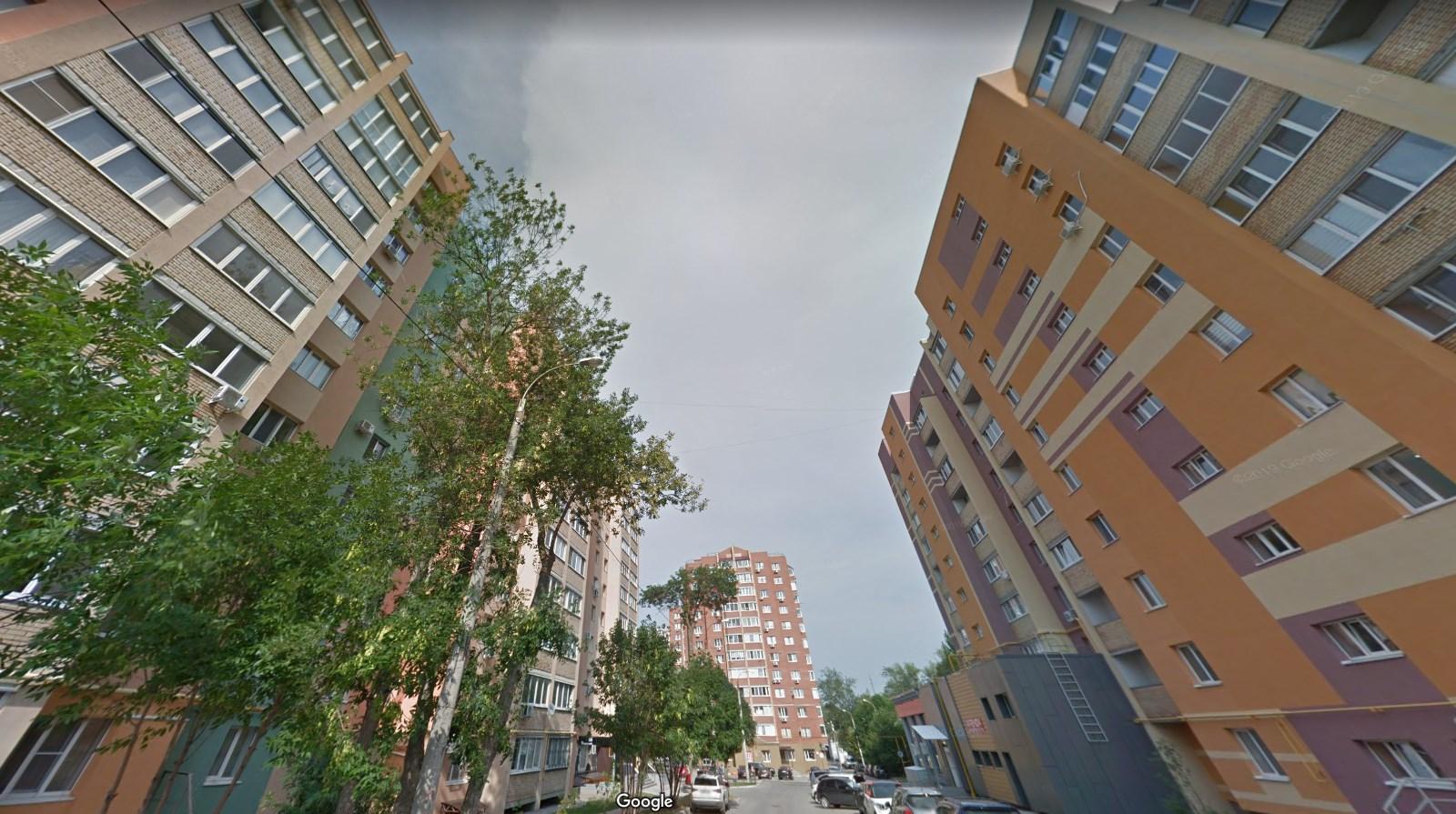 Высотки улицы Солдатской