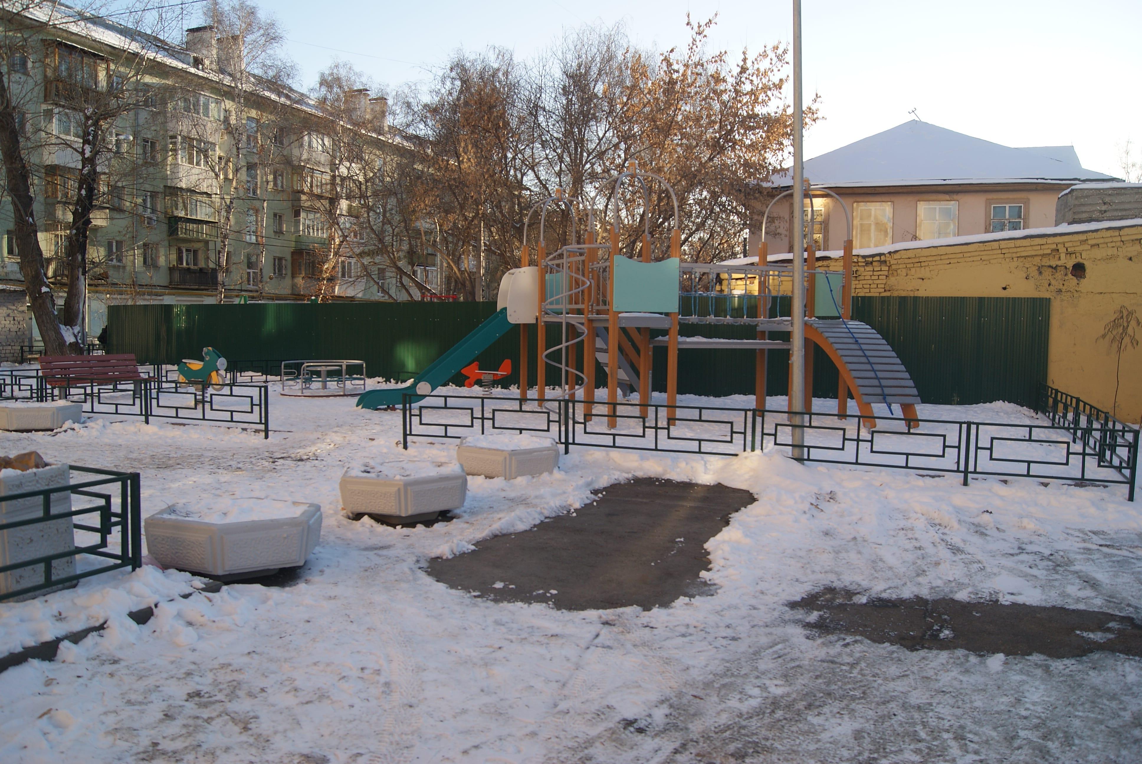 Детская площадка-min