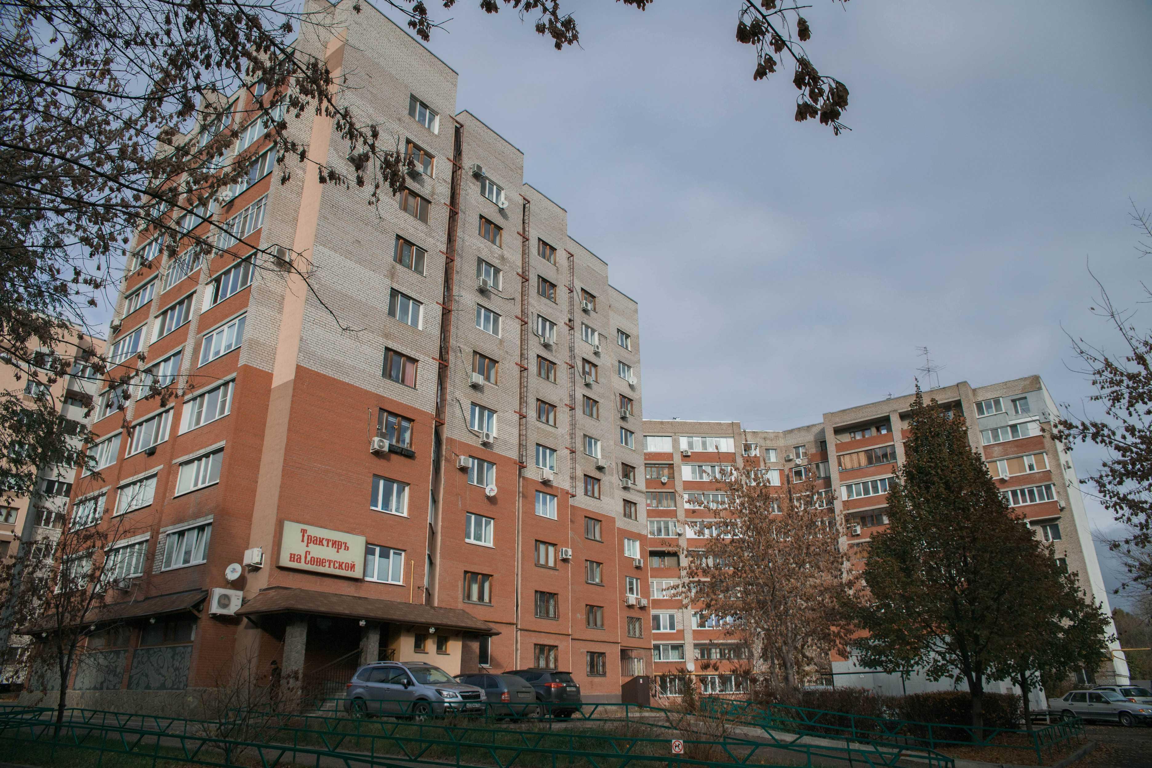 Новостройки на улице Советской