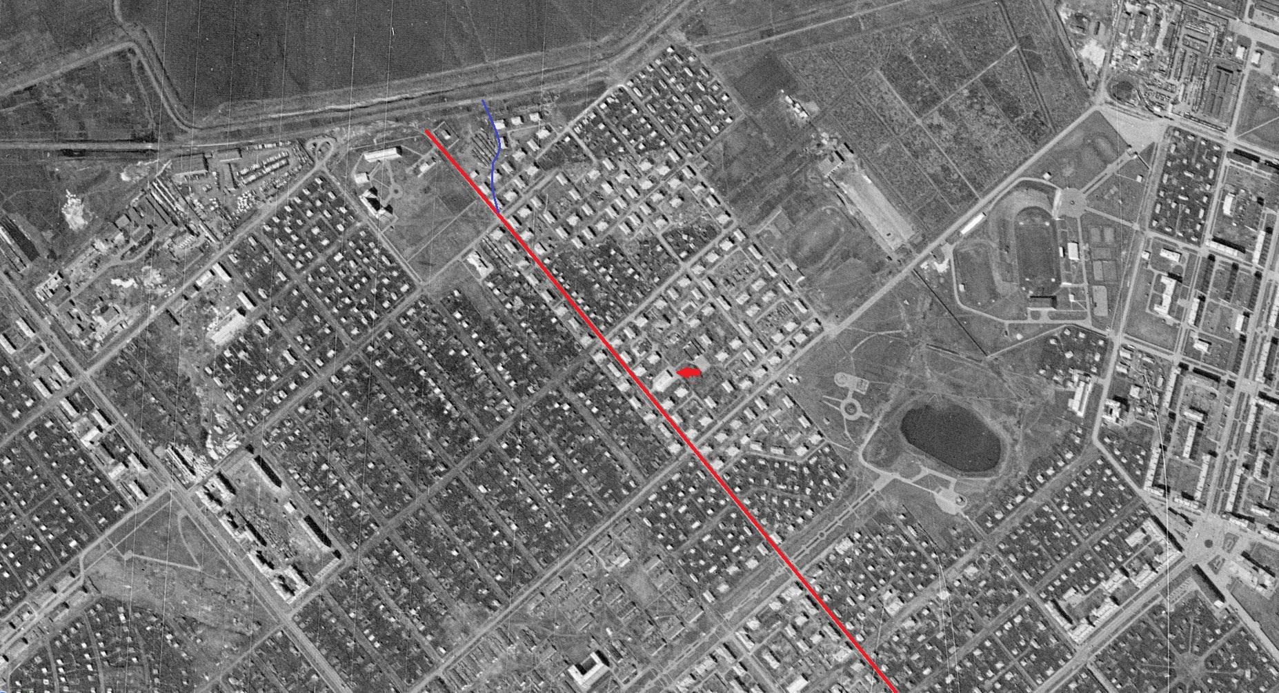 Улица Советская в 1965 году