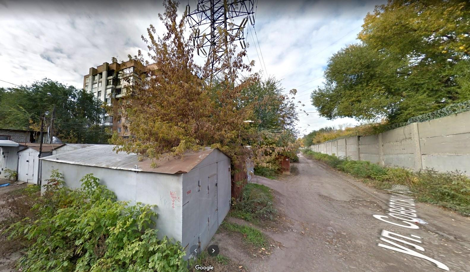 Улица Советской Армии. Начало