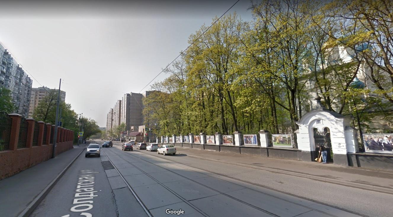 Улица Солдатская в Москве