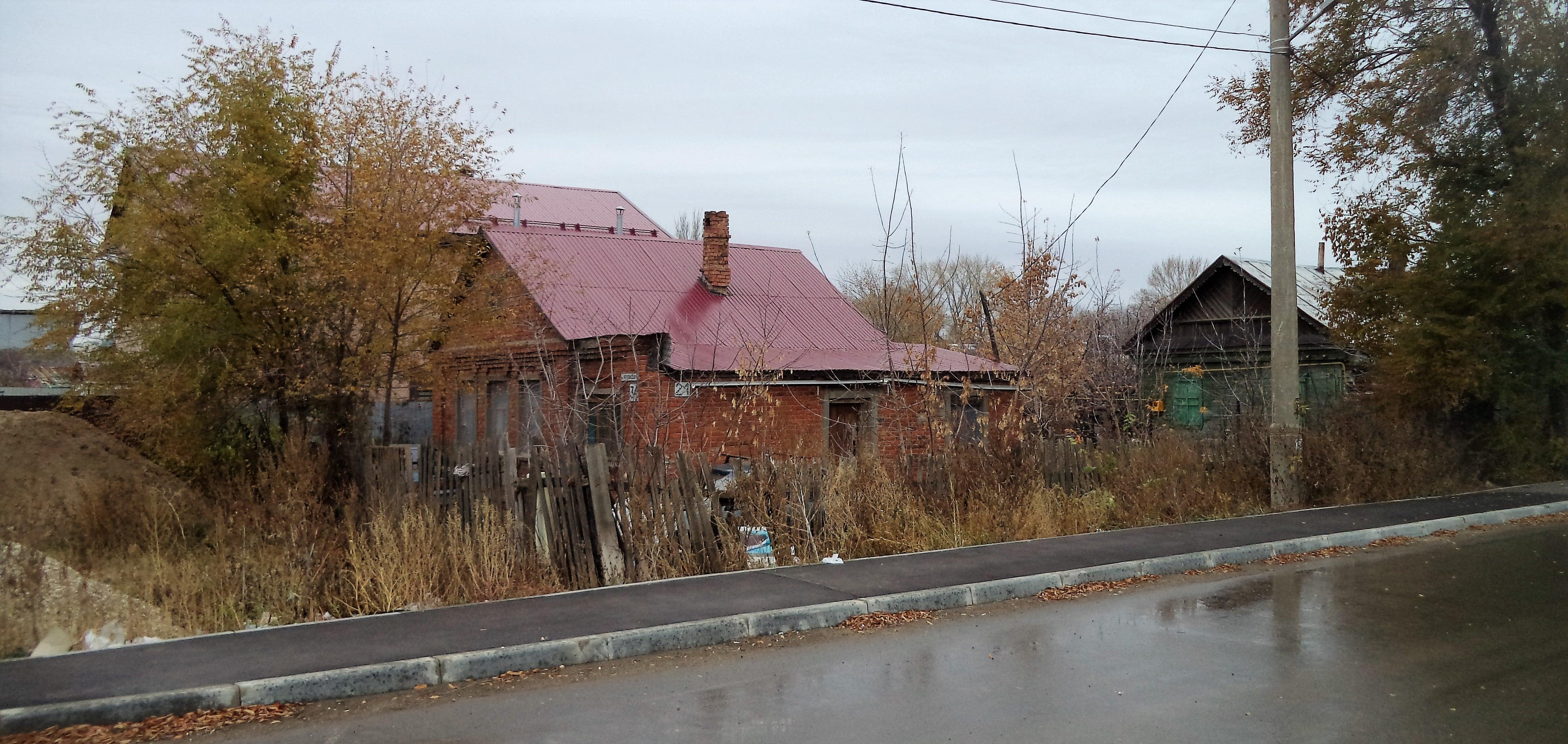 Частный сектор улицы Сокольской