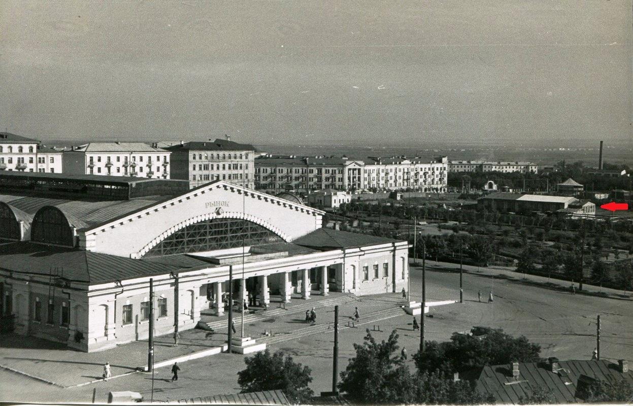Парниковое хозяйство на Никитинской площади