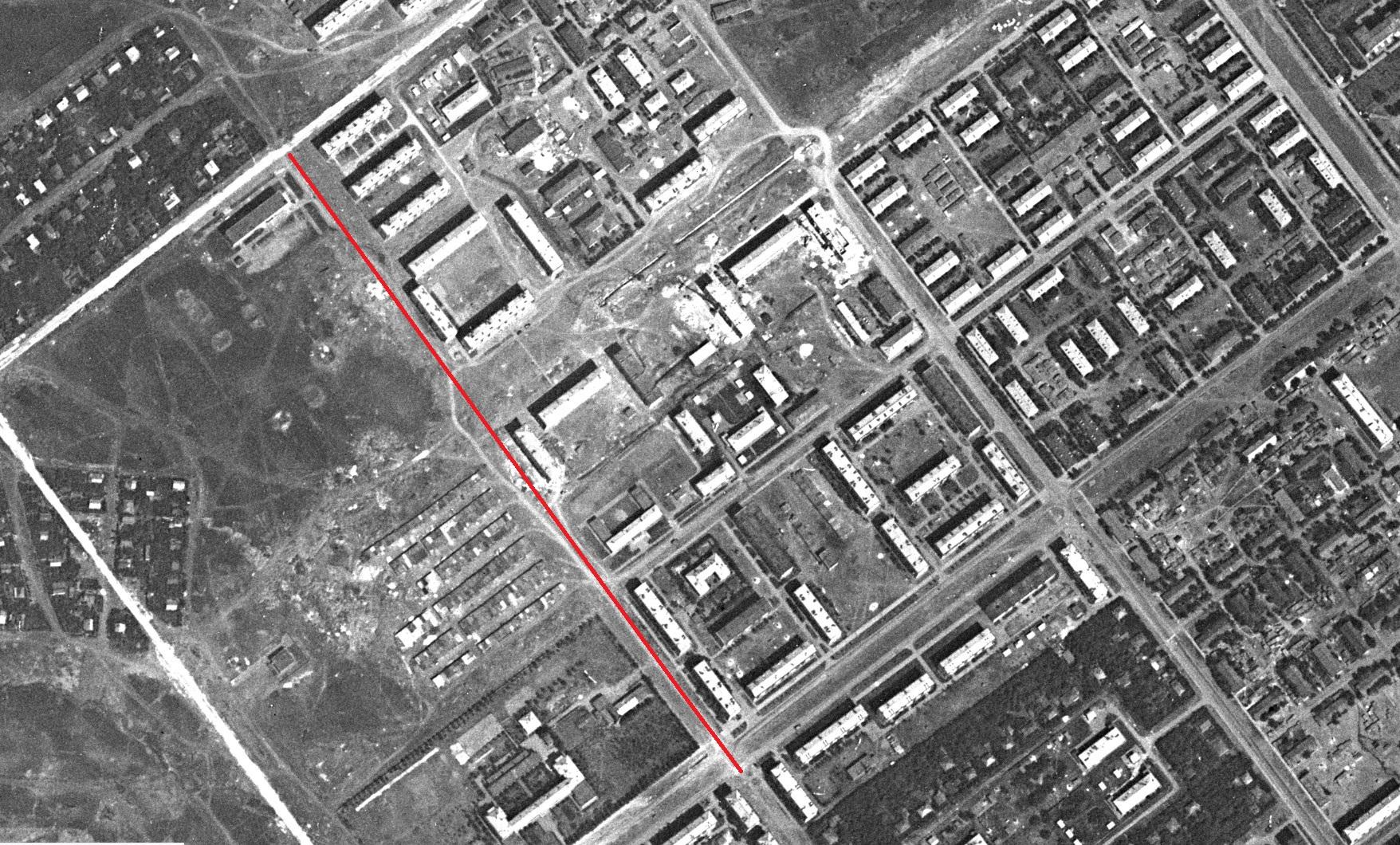 Средне-Садовая-2 в 1967 году