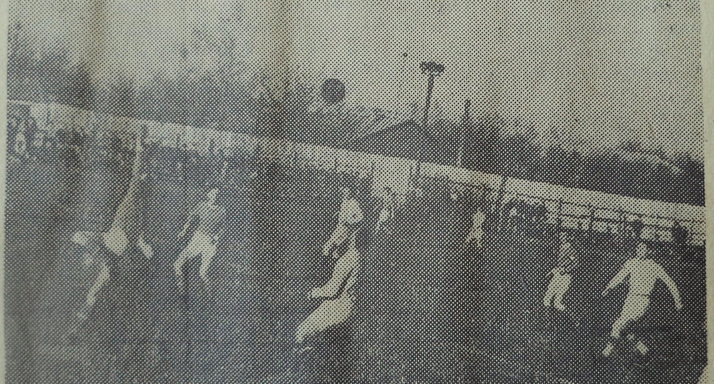 Стадион Нефтяник 1964 год