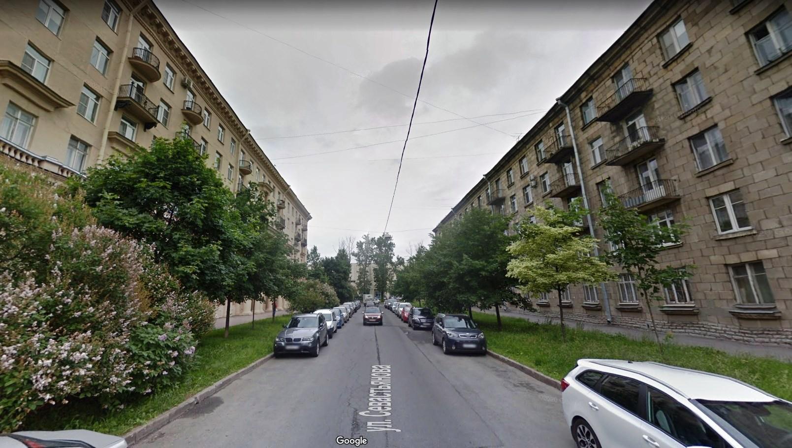Улица Севастьянова в Санкт-Петербурге