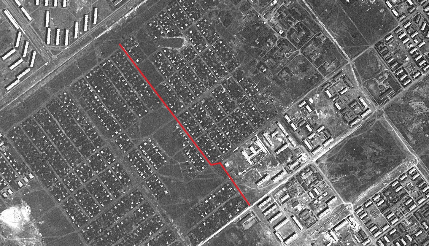 Улица Средне-Садовая-3 в 1967 году
