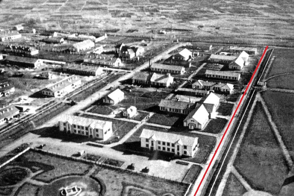 Улица Стадионная в 1940-х годах