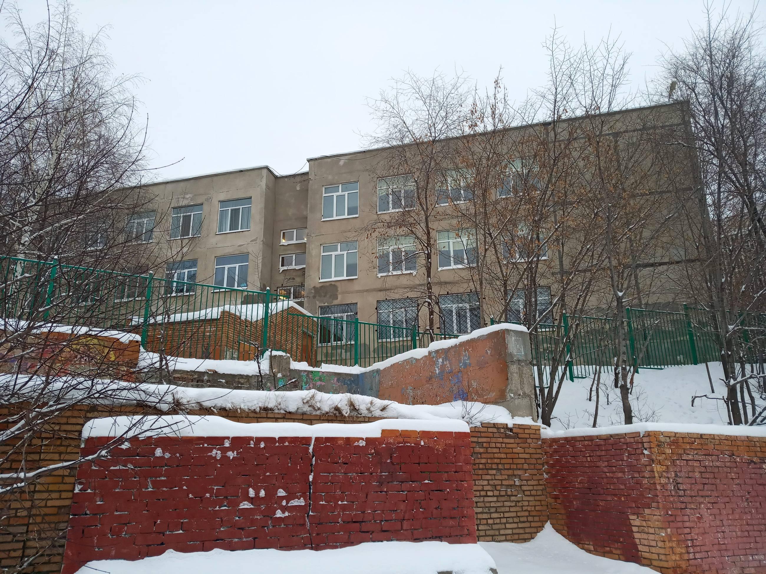 Школа №149 на улице Солнечной