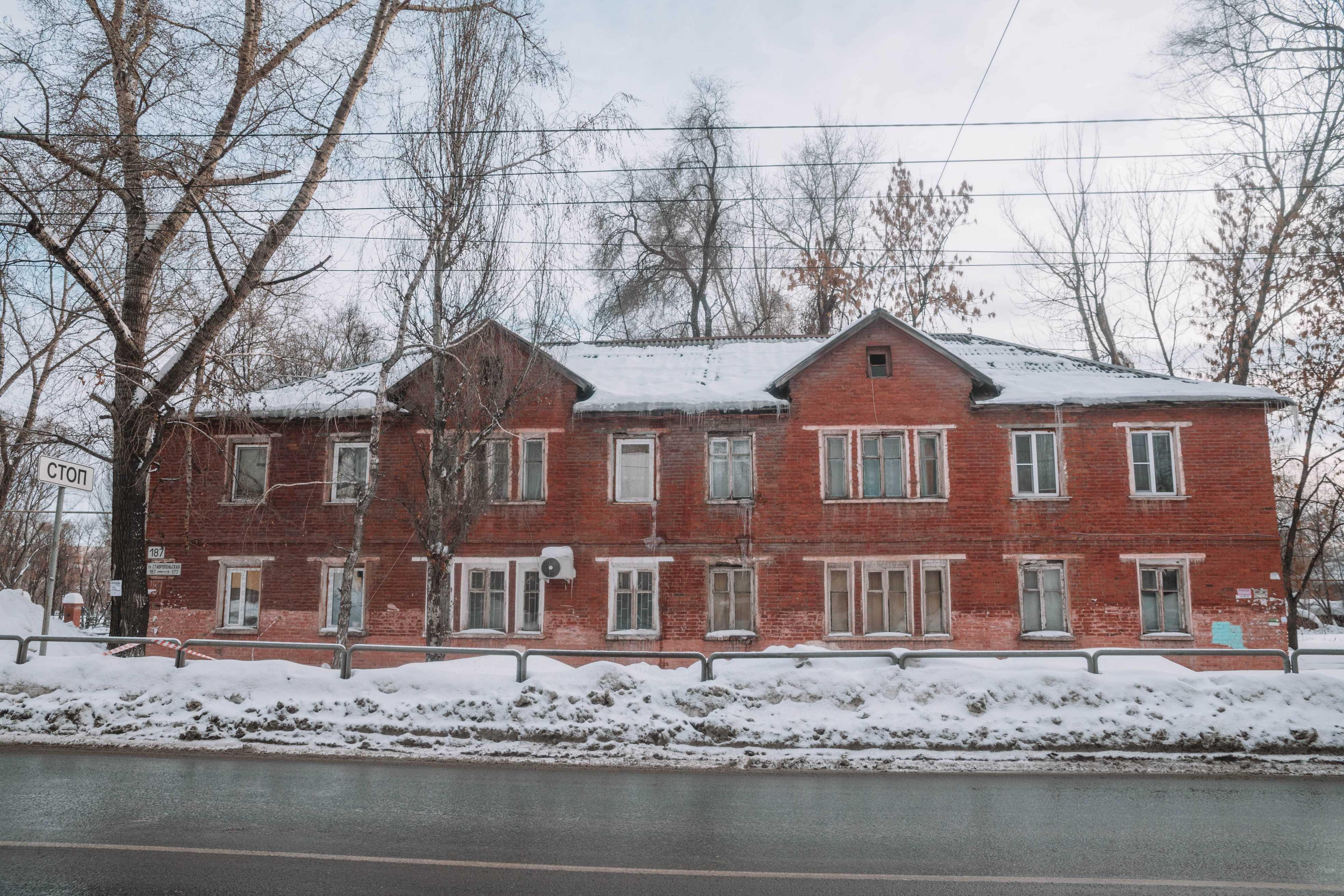 Кирпичный дом в 66 квартале