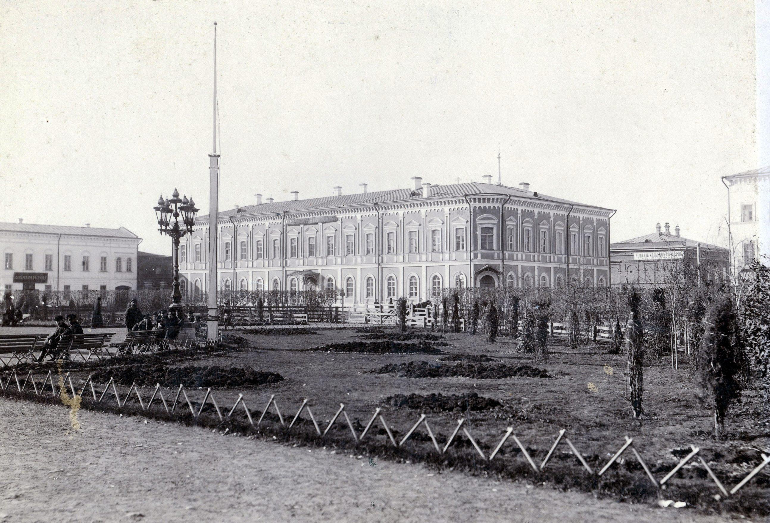 Окружный суд до реконструкции
