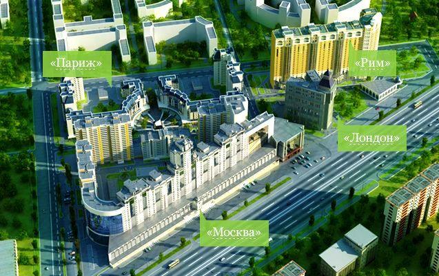 Проект ЖК Города мира