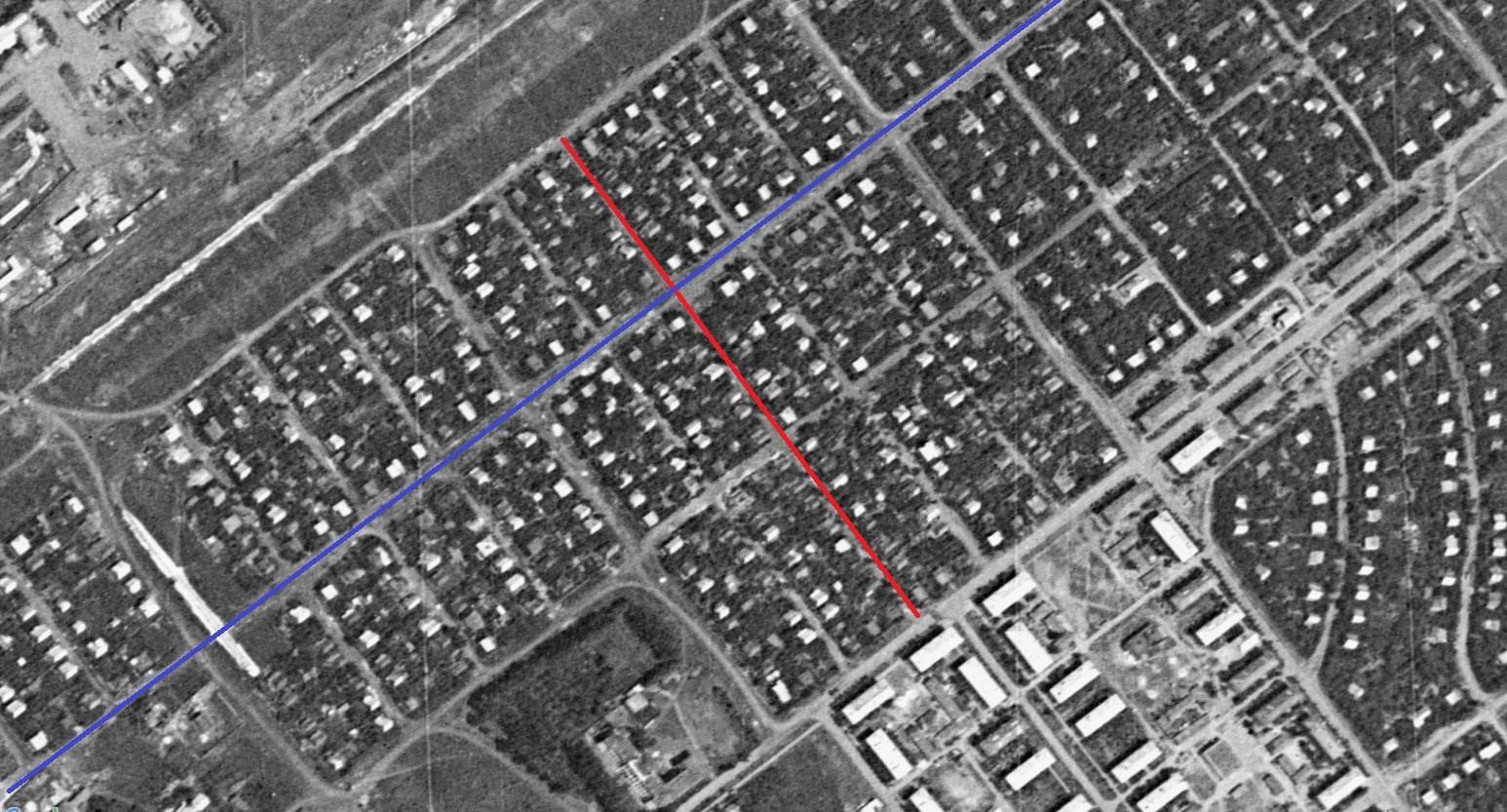Улица Сторожевая. 1966 год