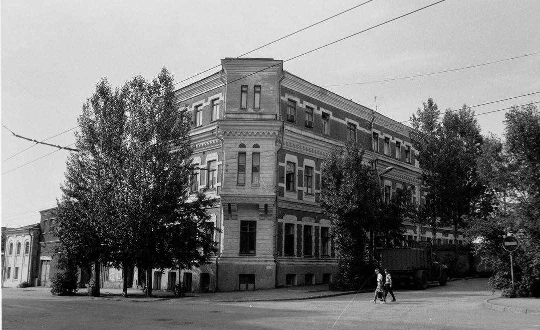 Дом Афанасьева после надстройки