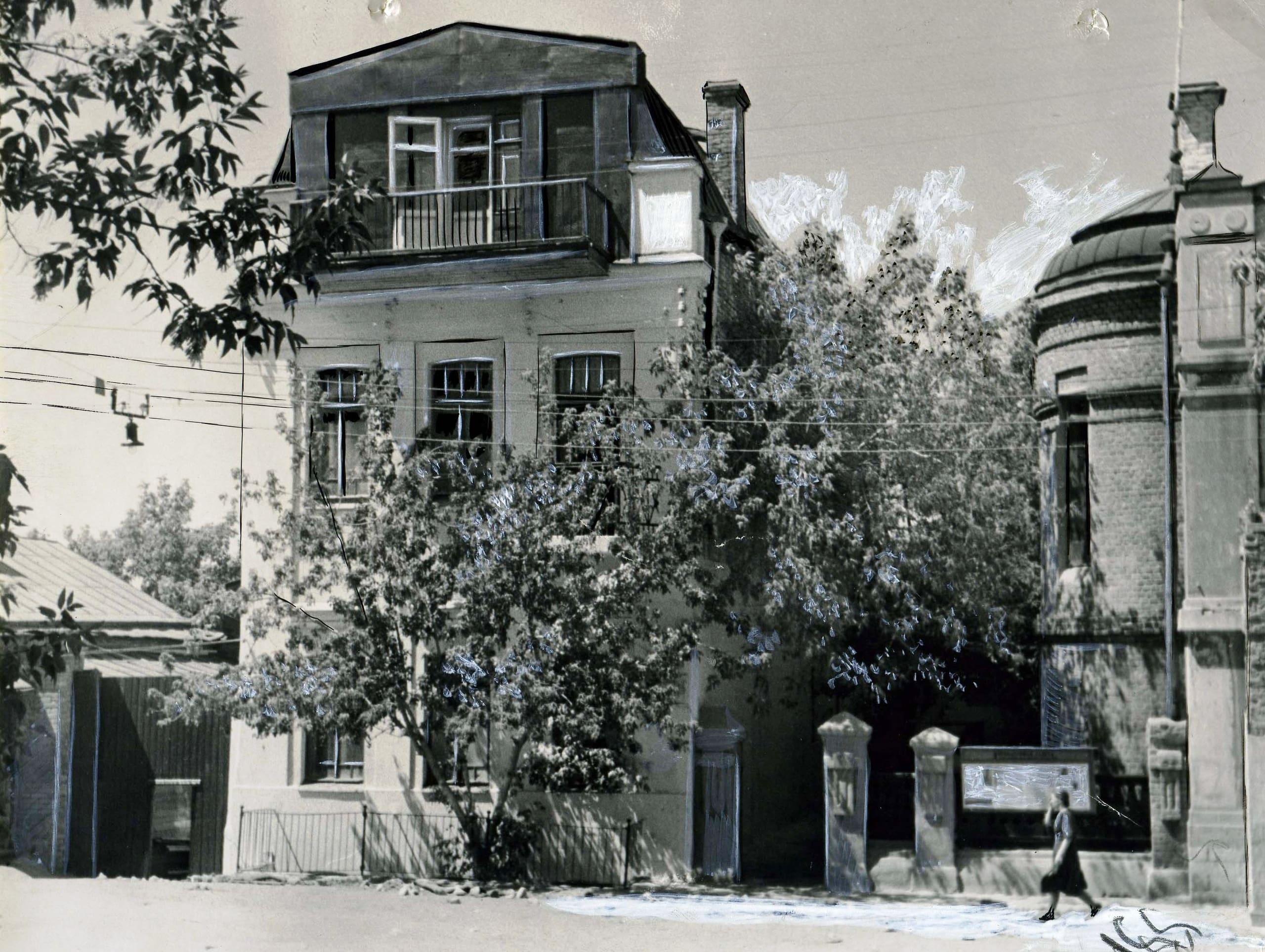Дом в котором жил Максим Горький