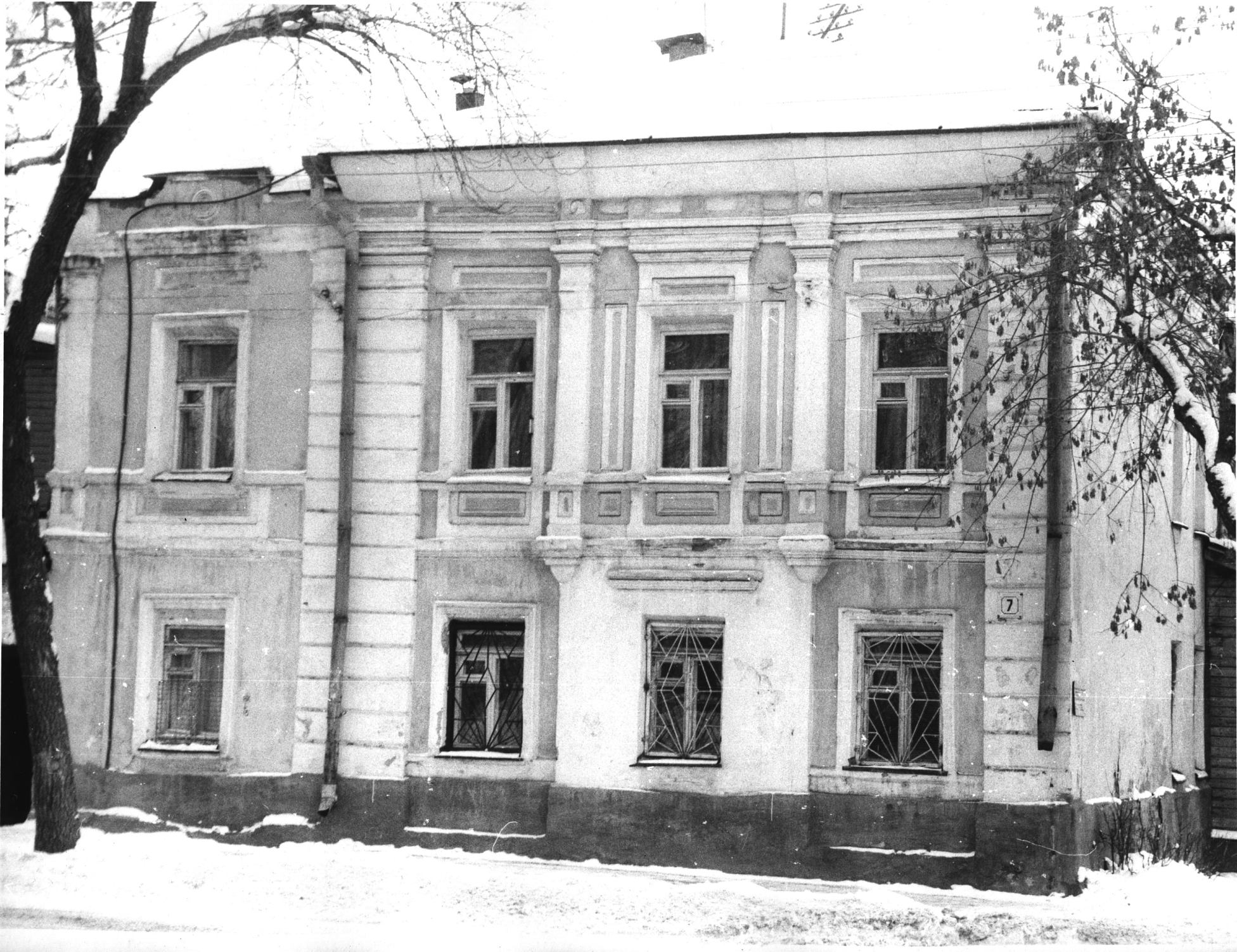 Дом где жил Марк Елизаров