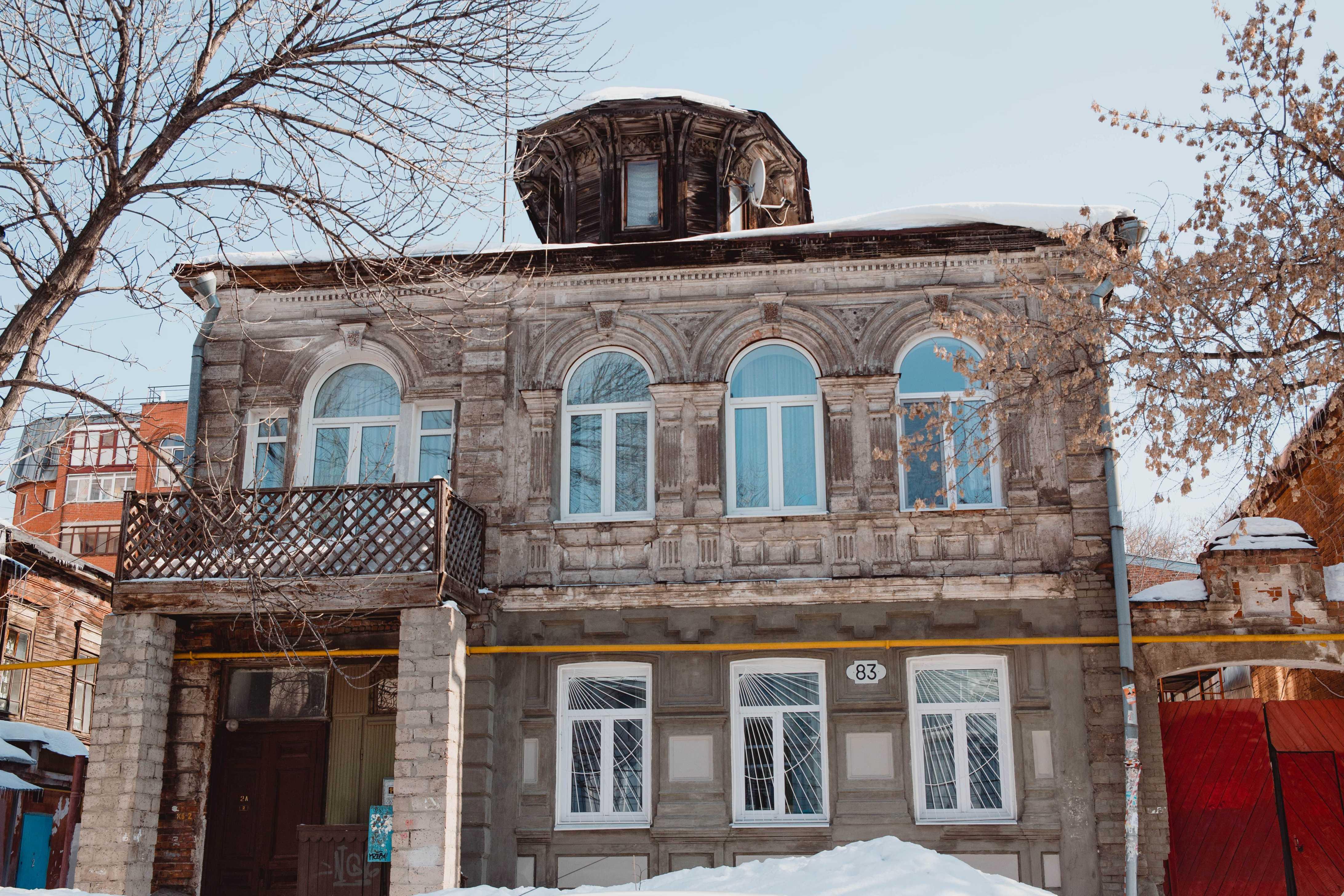 Дом мещанина Васильева с башенкой