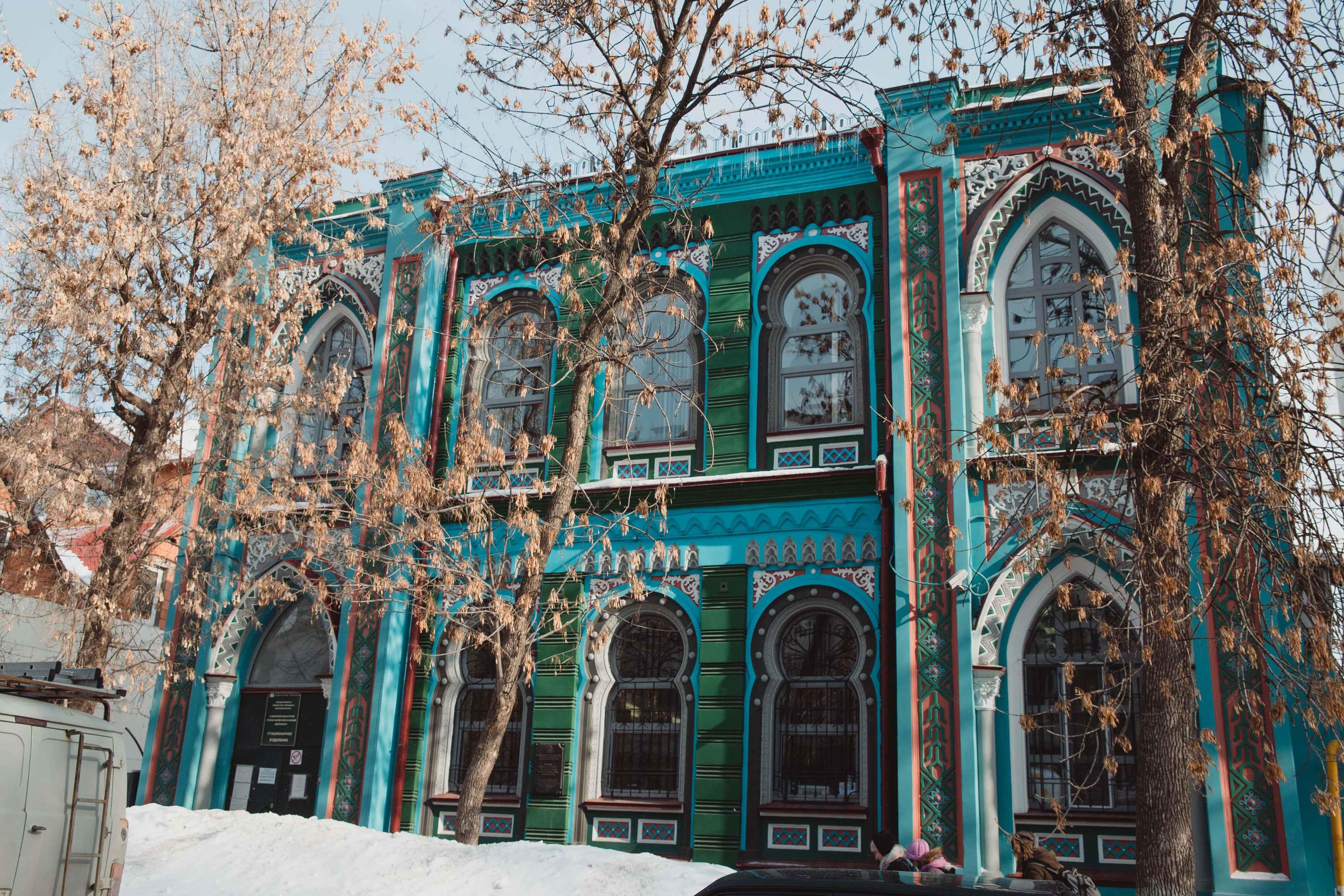 Мавританский стиль в архитектуре Самары