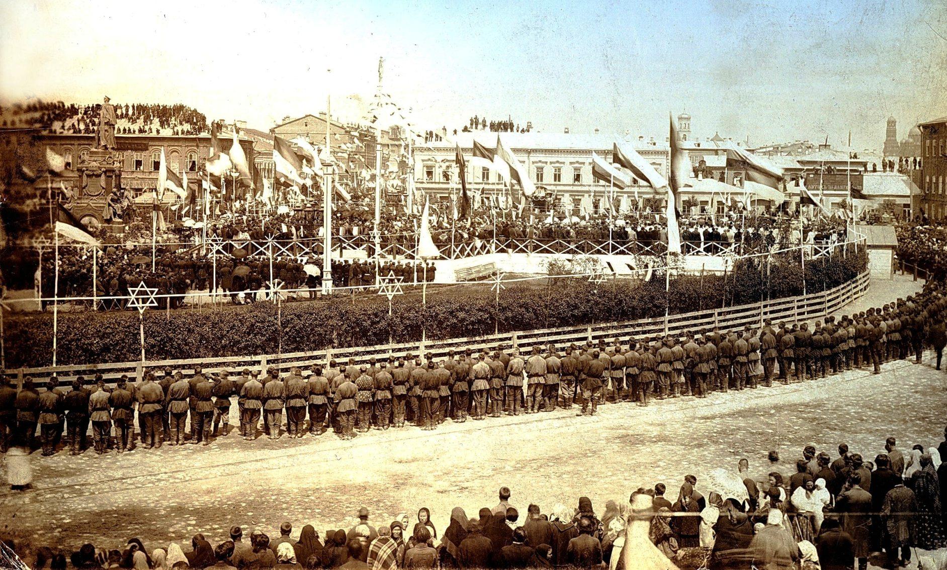 Открытие памятника Александру Второму в Самаре