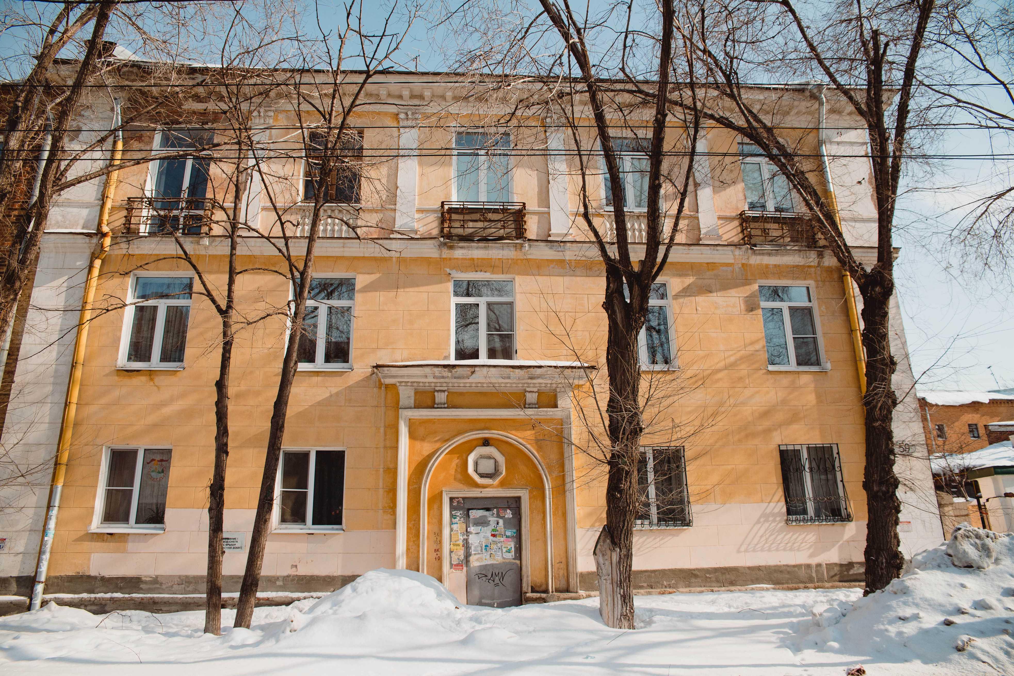 Сталинка в которой жил Мочалов