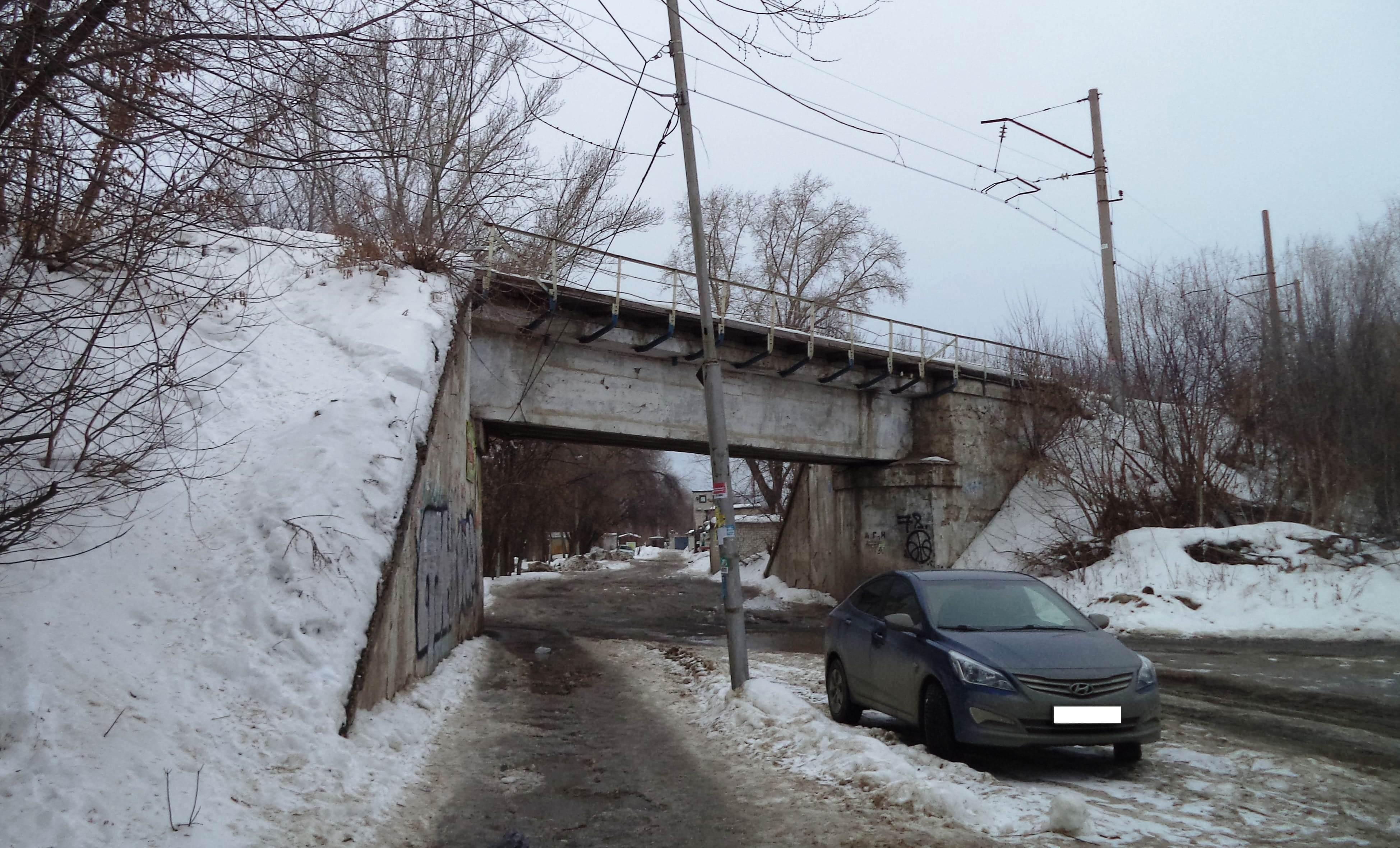 Тоннель под железнодорожными путями