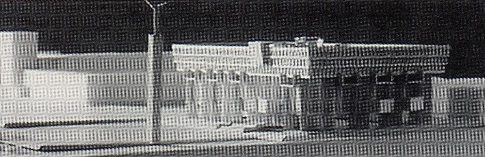 "Вариант Дома Советов в Самаре. Из книги ""Архитектор Ваган Каркарьян"""