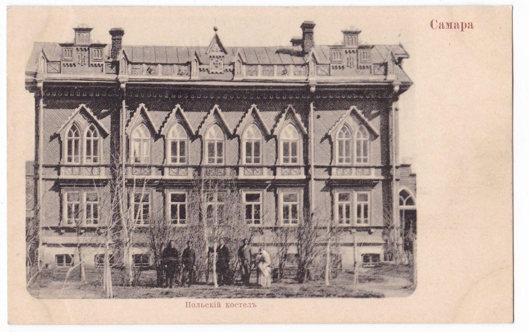 Каплица на улице Саратовской