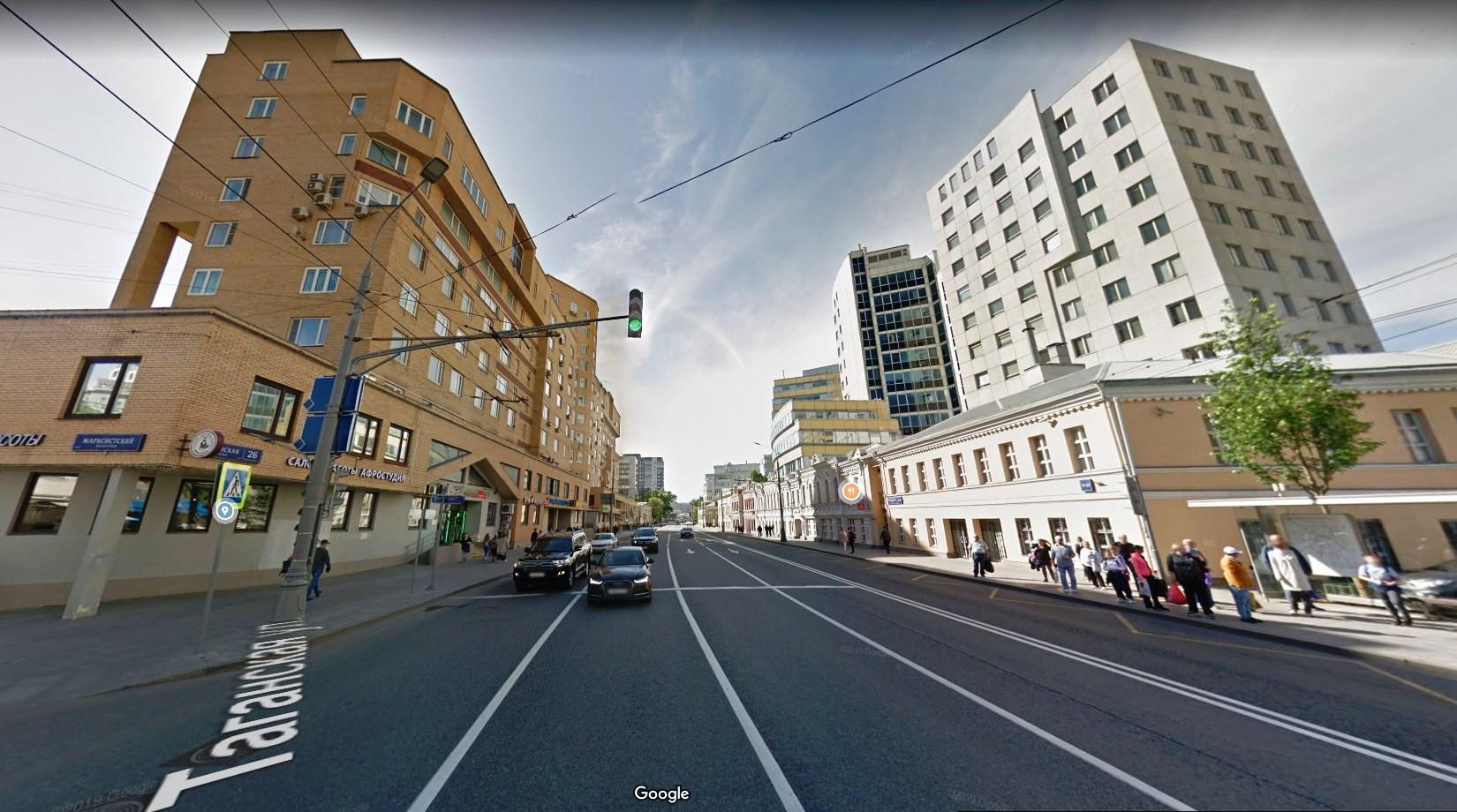 Таганская улица в Москве