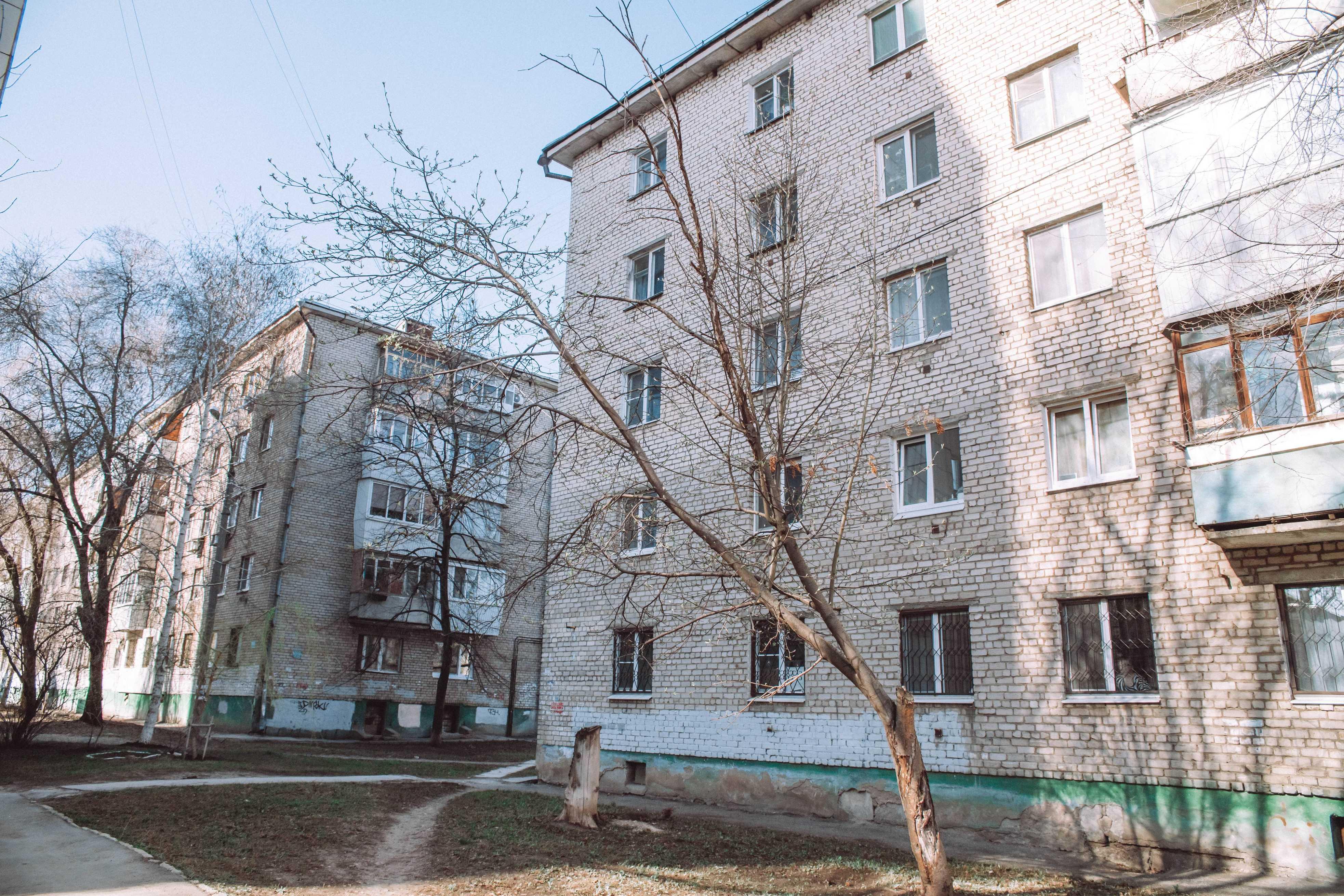 Ташкентский переулок в городке Металлургов