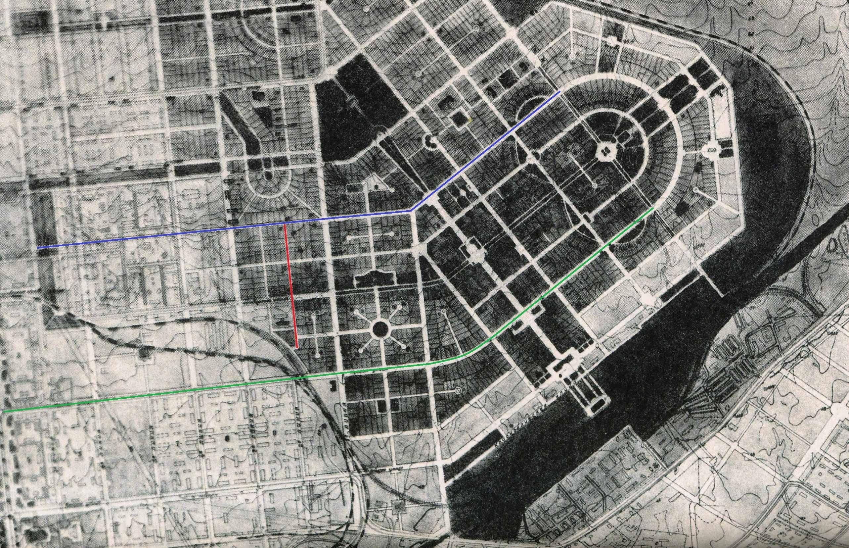 Ташкентский переулок 1945-1950 года