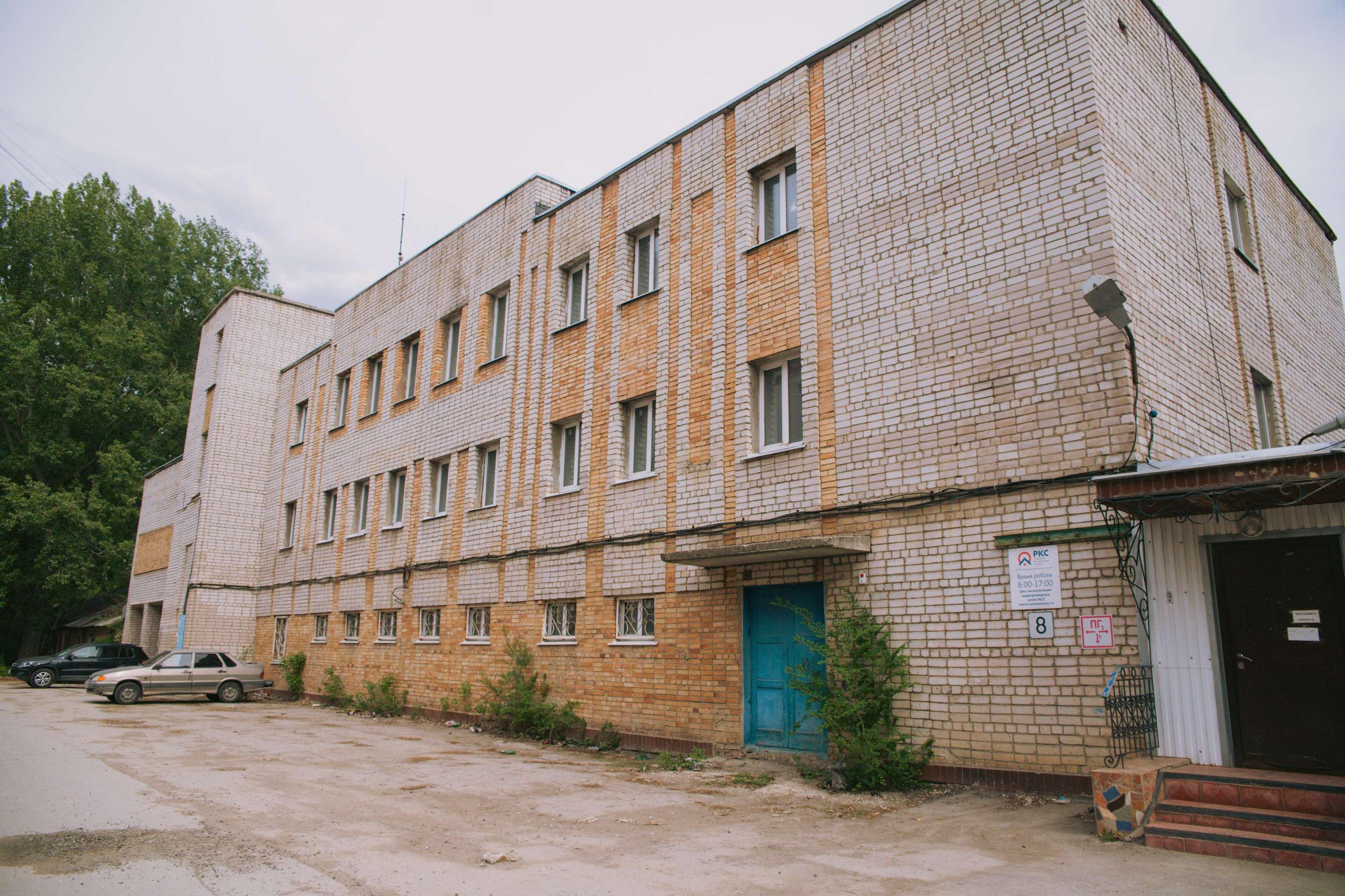 Водоканал в Томашевском тупике