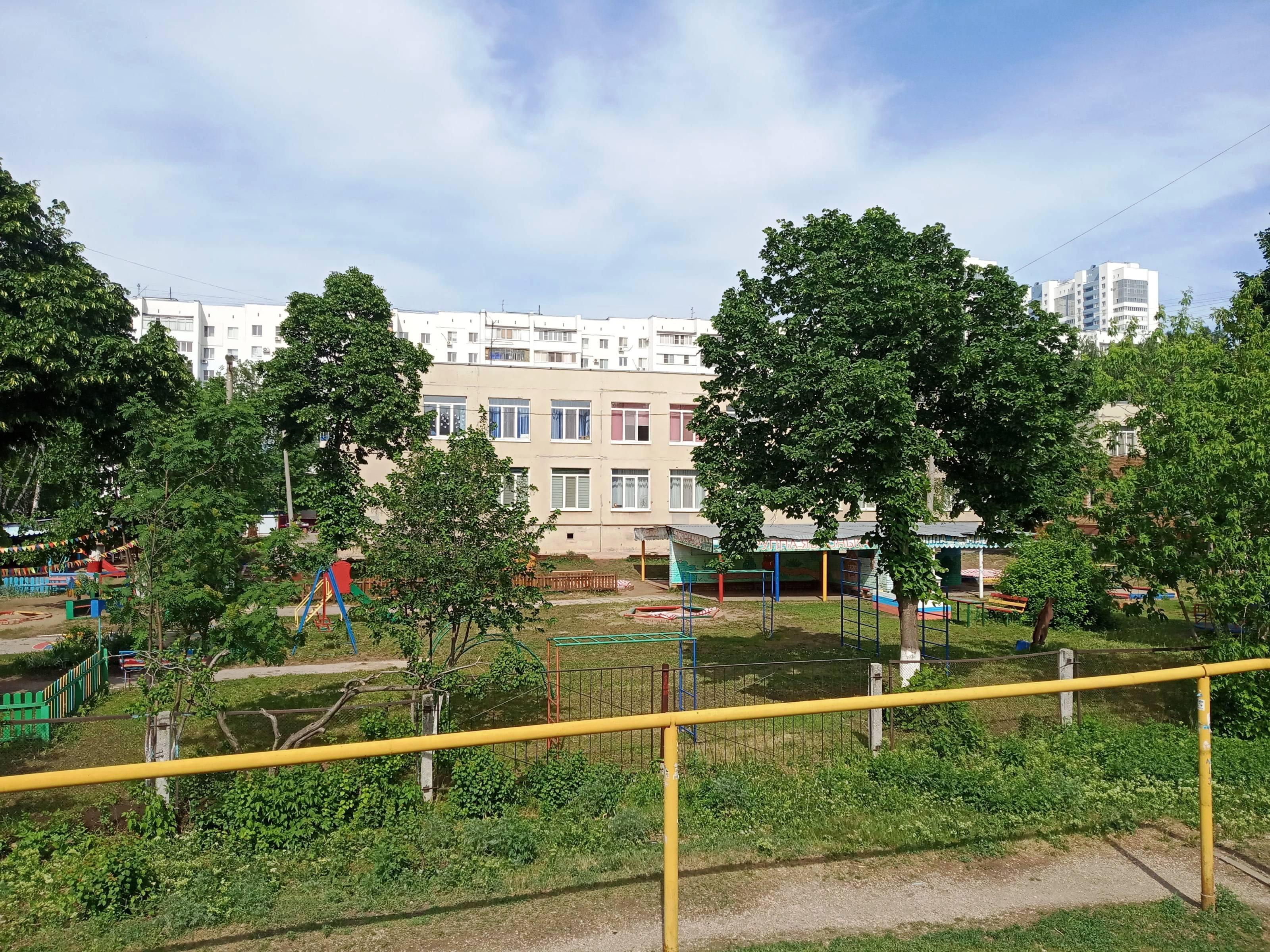 Детский сад на улице Тополей