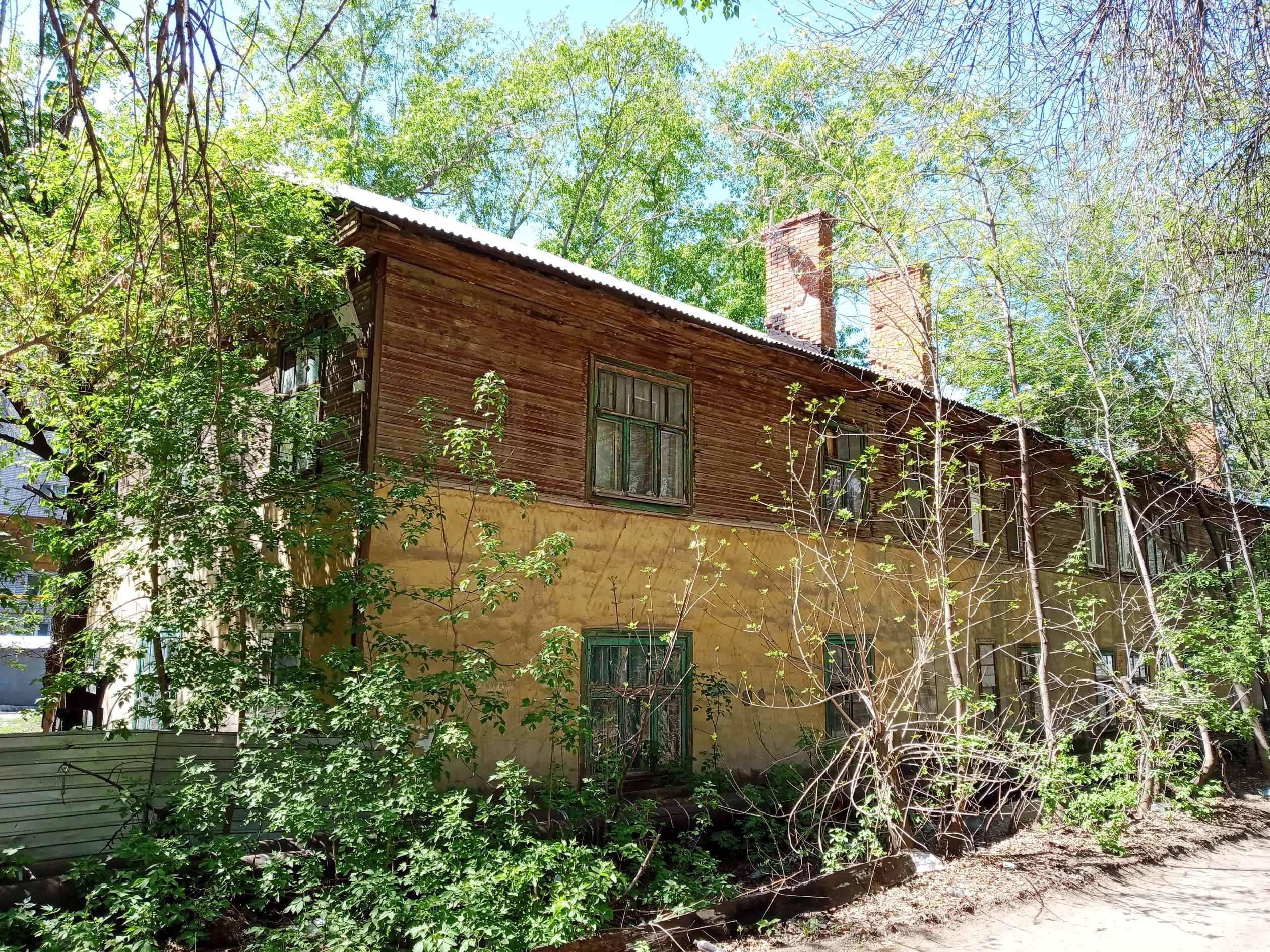 Довоенный дом на улице Тихвинской