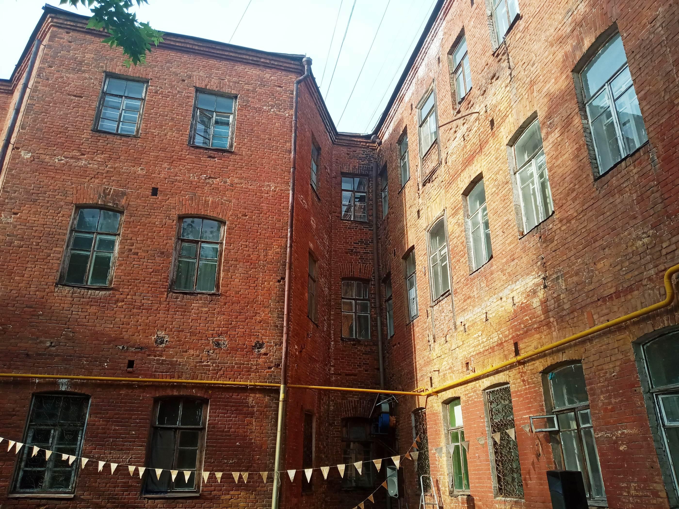 Доходный дом Ершова вид со двора