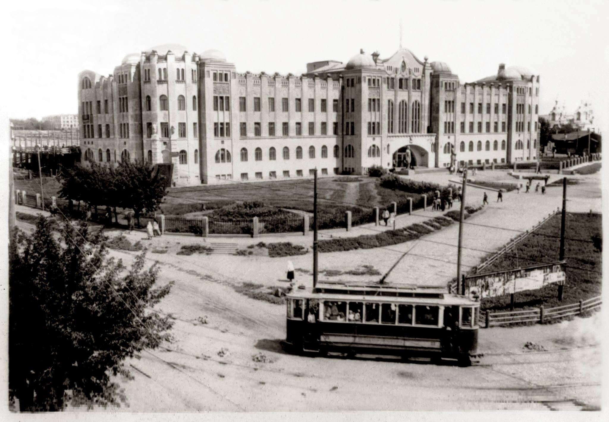 Здание Самара-Златоустовской железной дороги в Самаре