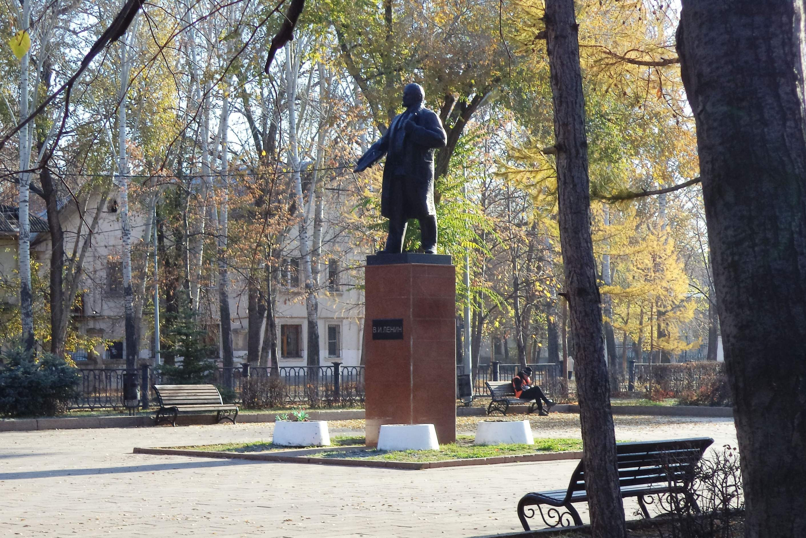 Ленин в поселке 116 километр