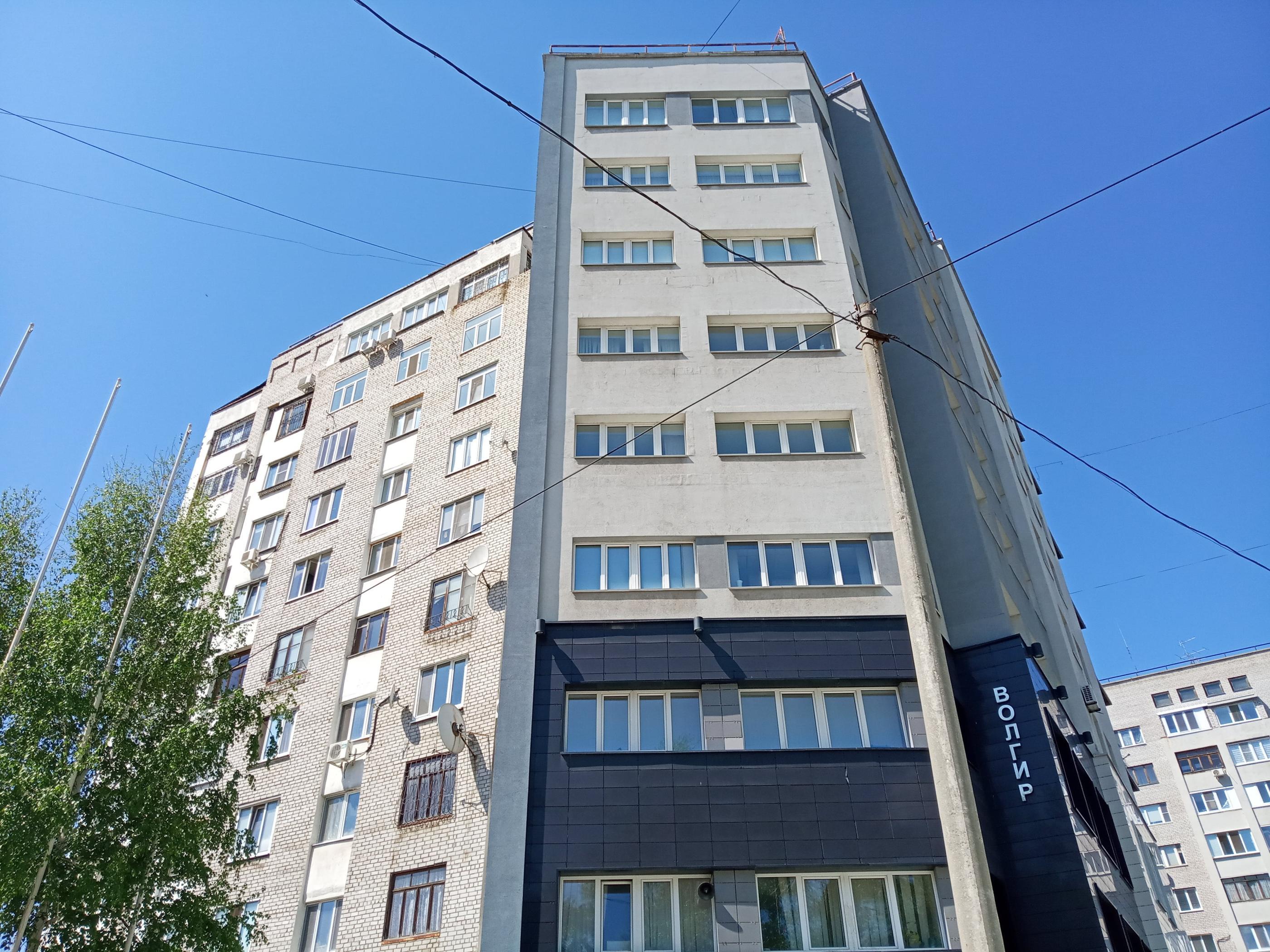 Новостройка улицы Тихвинская