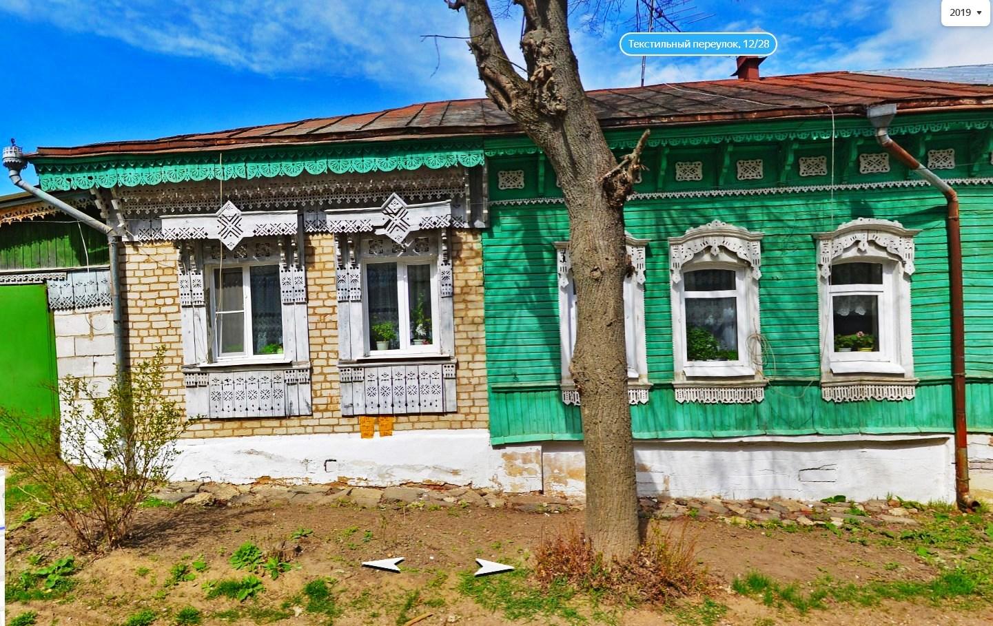 Текстильный переулок в городе Боровске