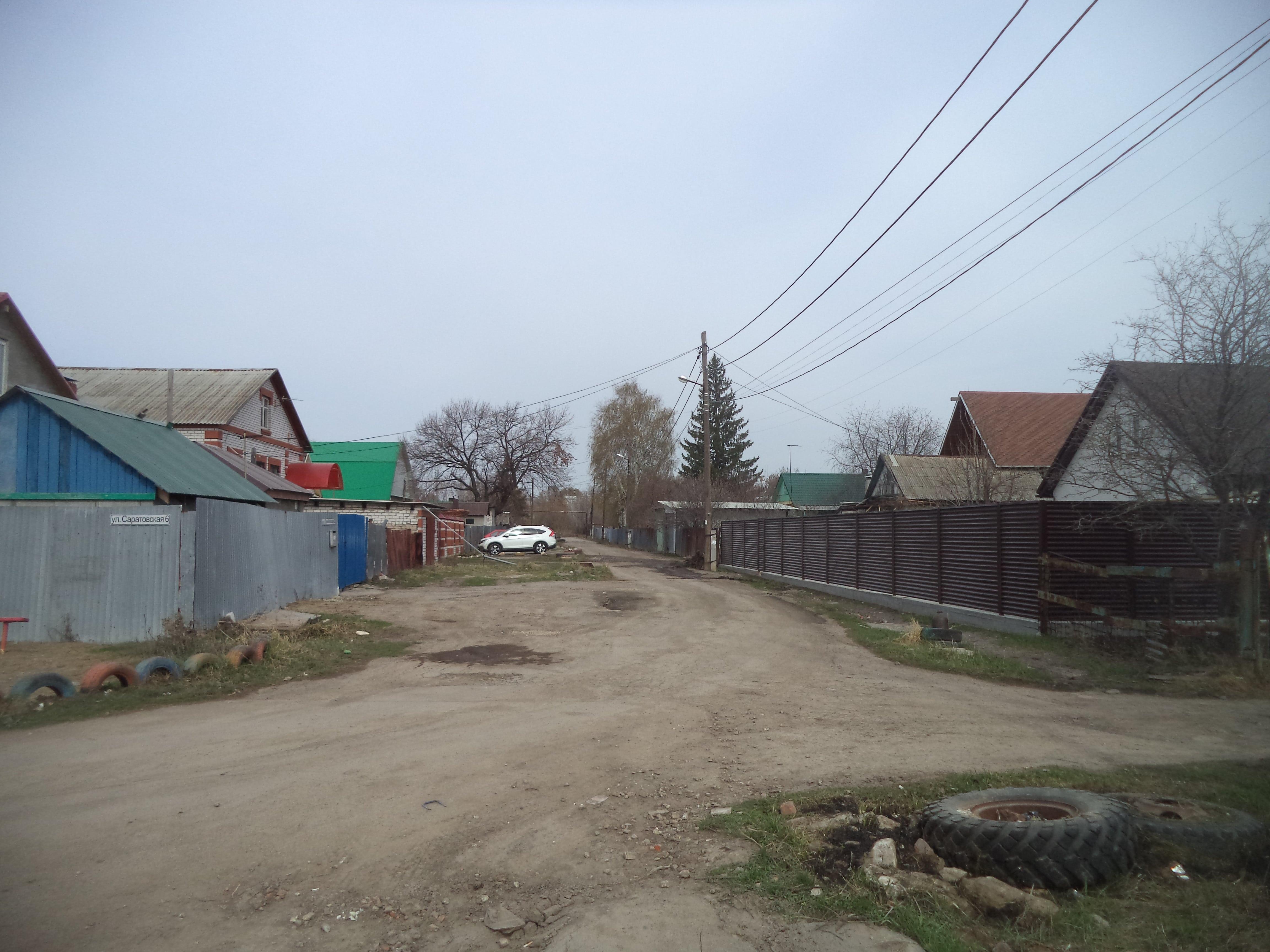 Улица Тамбовская около ИК-15