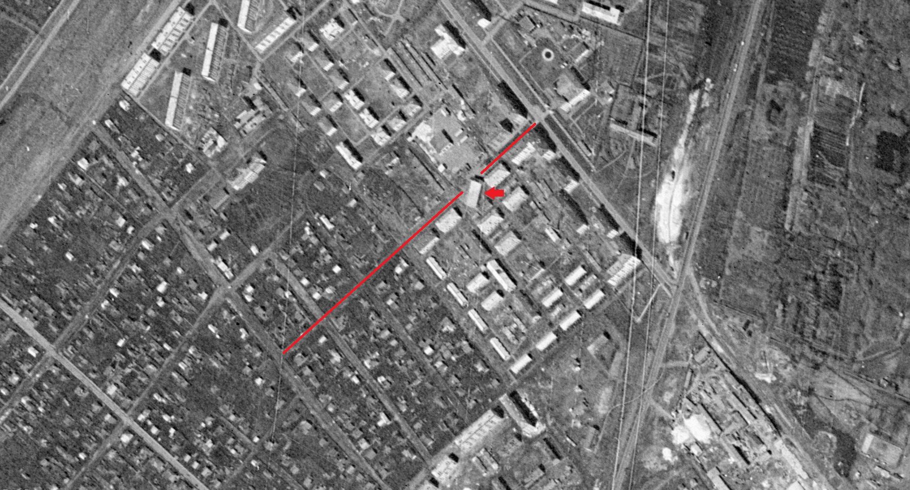 Улица Тихвинская в 1965 году