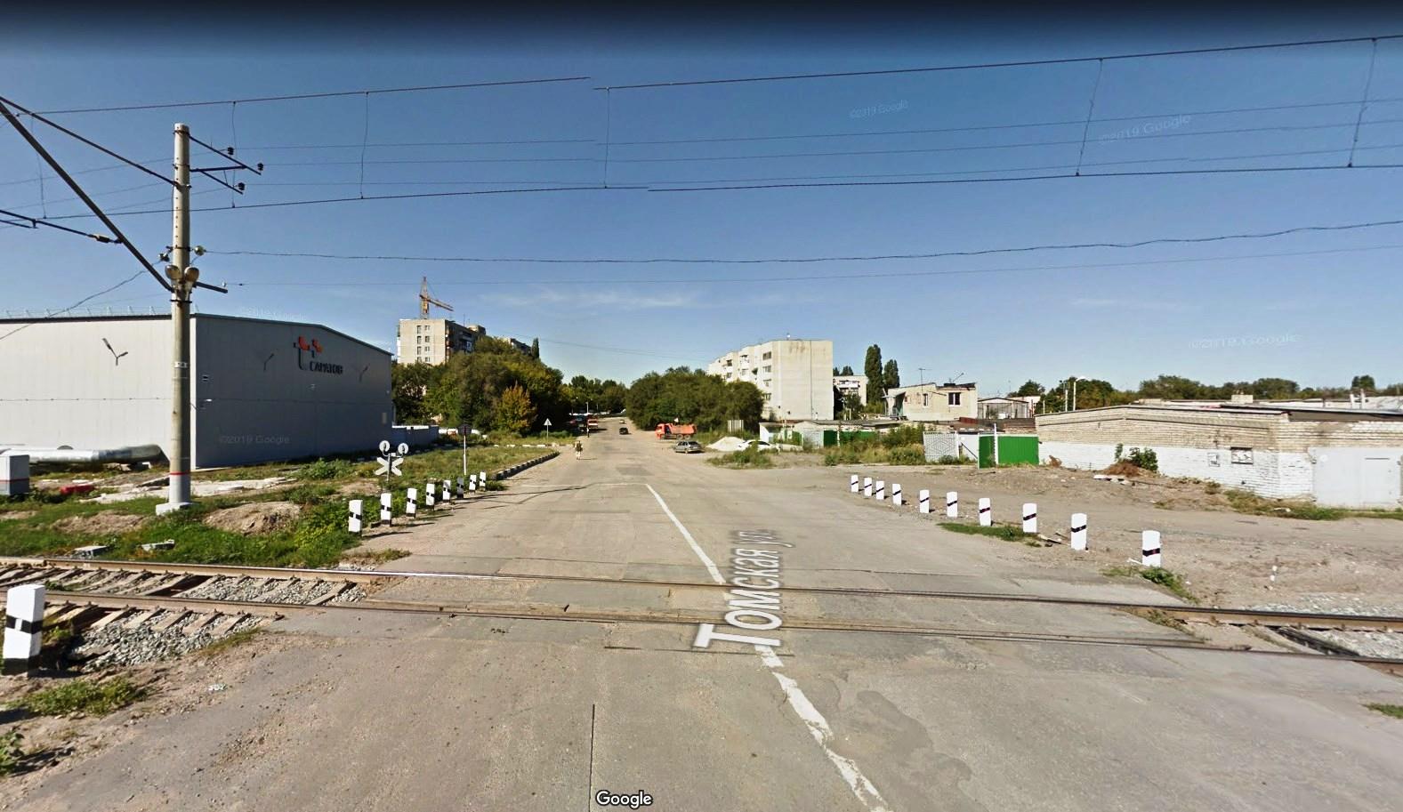 Улица Томская в Саратове