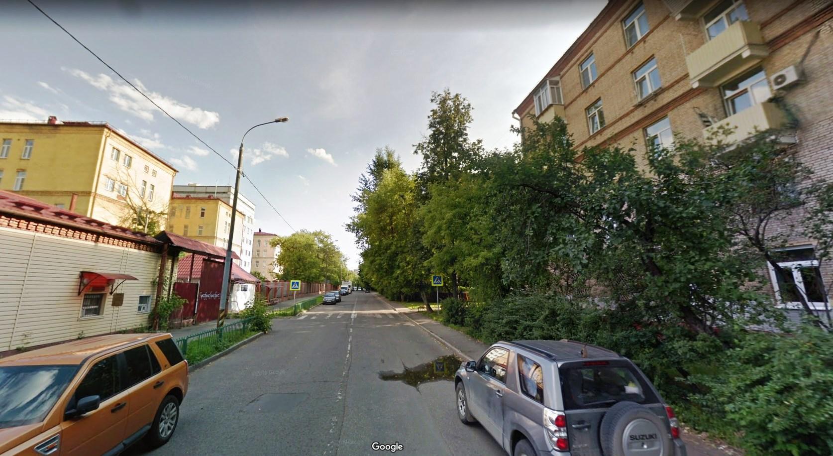 Улица Тюменская в Москве