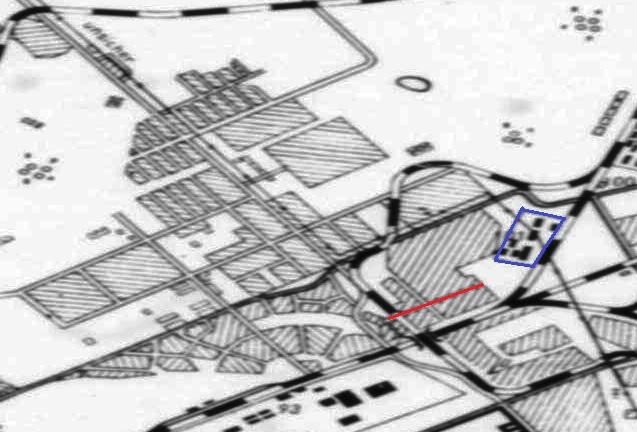 1943 год -- карта Куйбышева