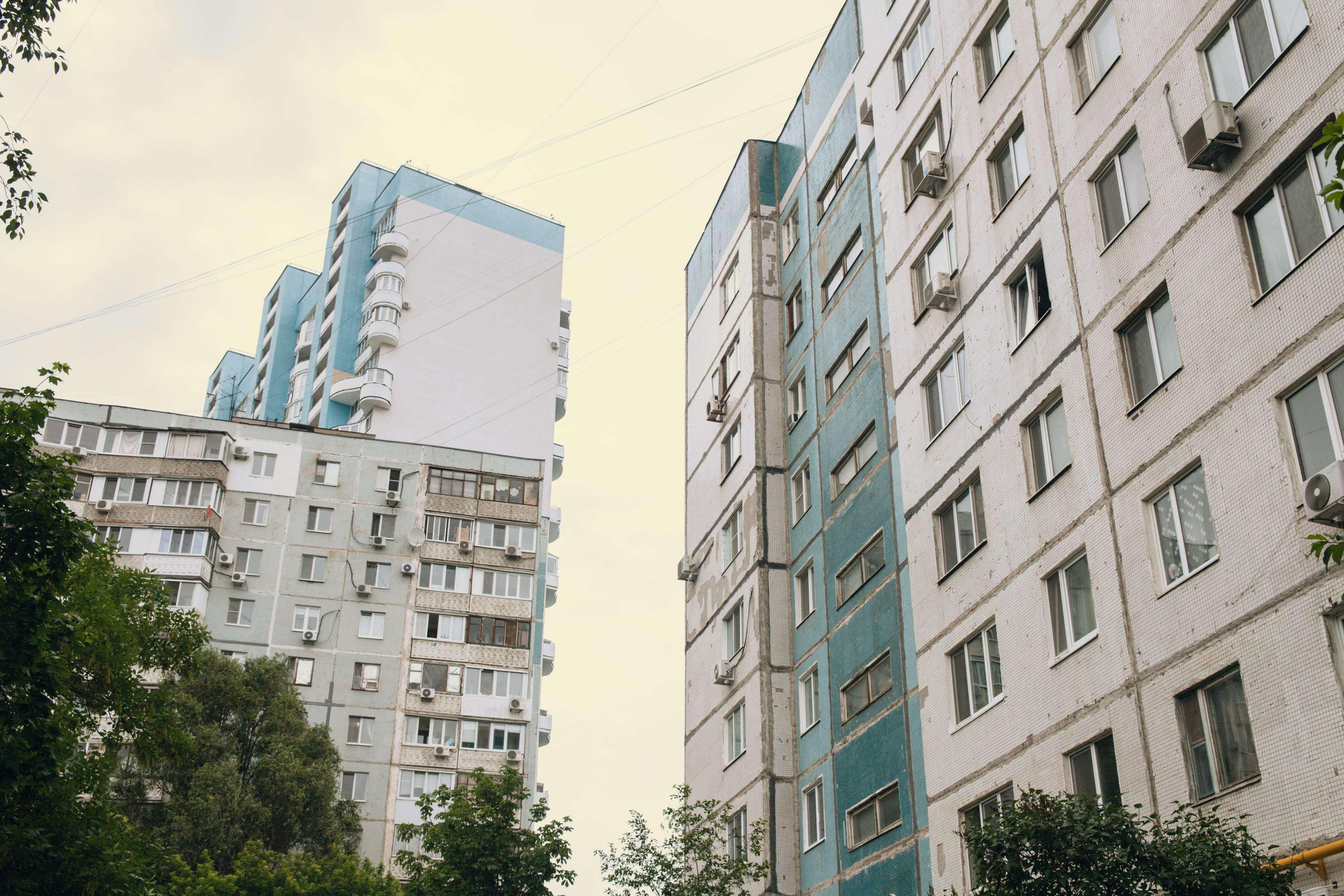 Панельки улицы Тухачевского